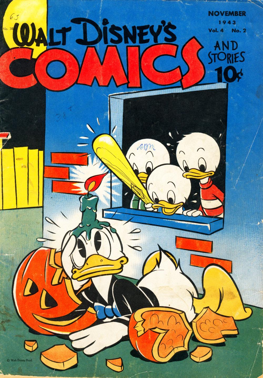 Walt Disneys Comics and Stories 38 Page 1