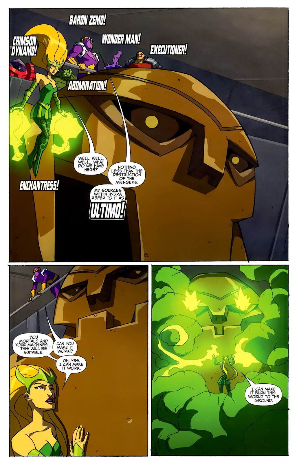 Avengers: Earth's Mightiest Heroes (2011) Issue #4 #4 - English 3