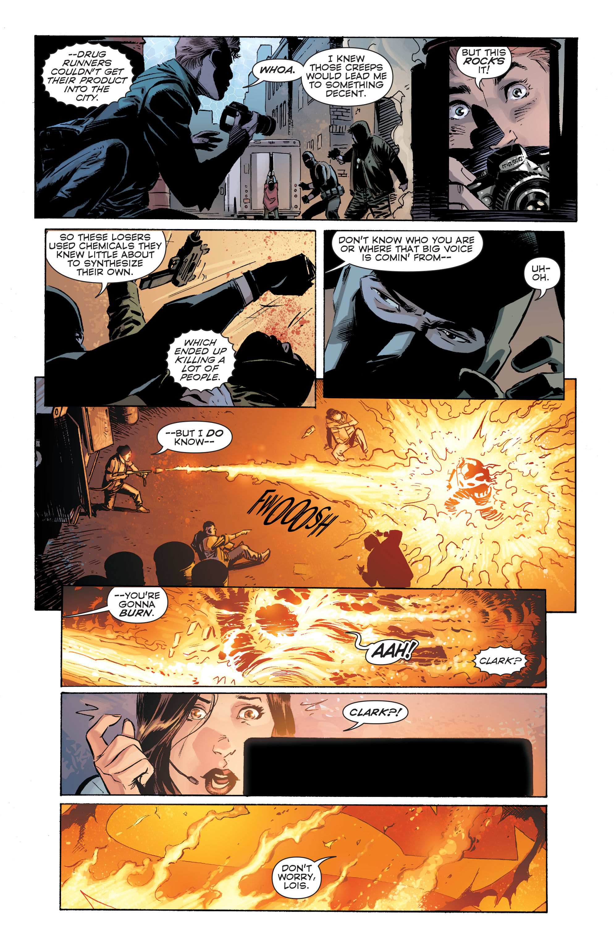Read online Convergence Superman comic -  Issue #1 - 5