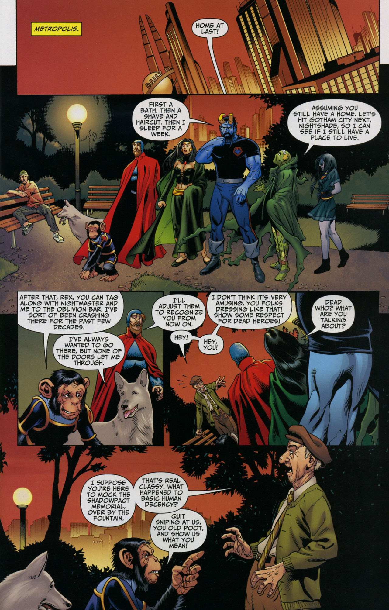 Read online Shadowpact comic -  Issue #5 - 7
