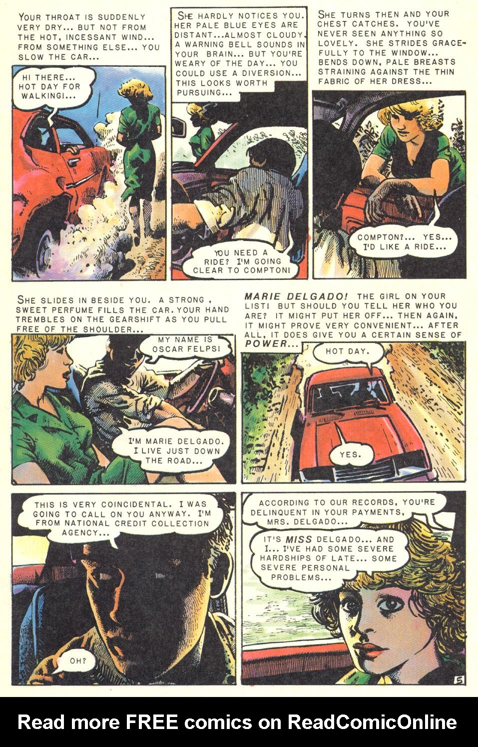 Read online Twisted Tales (1982) comic -  Issue #1 - 6