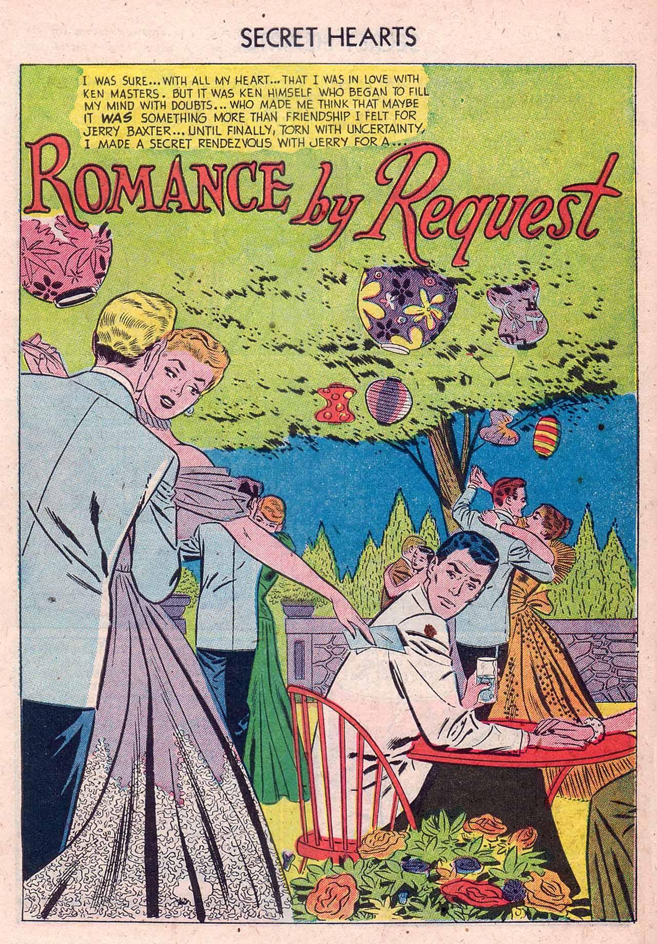 Read online Secret Hearts comic -  Issue #12 - 27