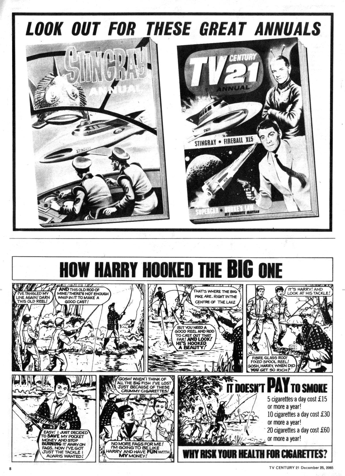 Read online TV Century 21 (TV 21) comic -  Issue #49 - 8