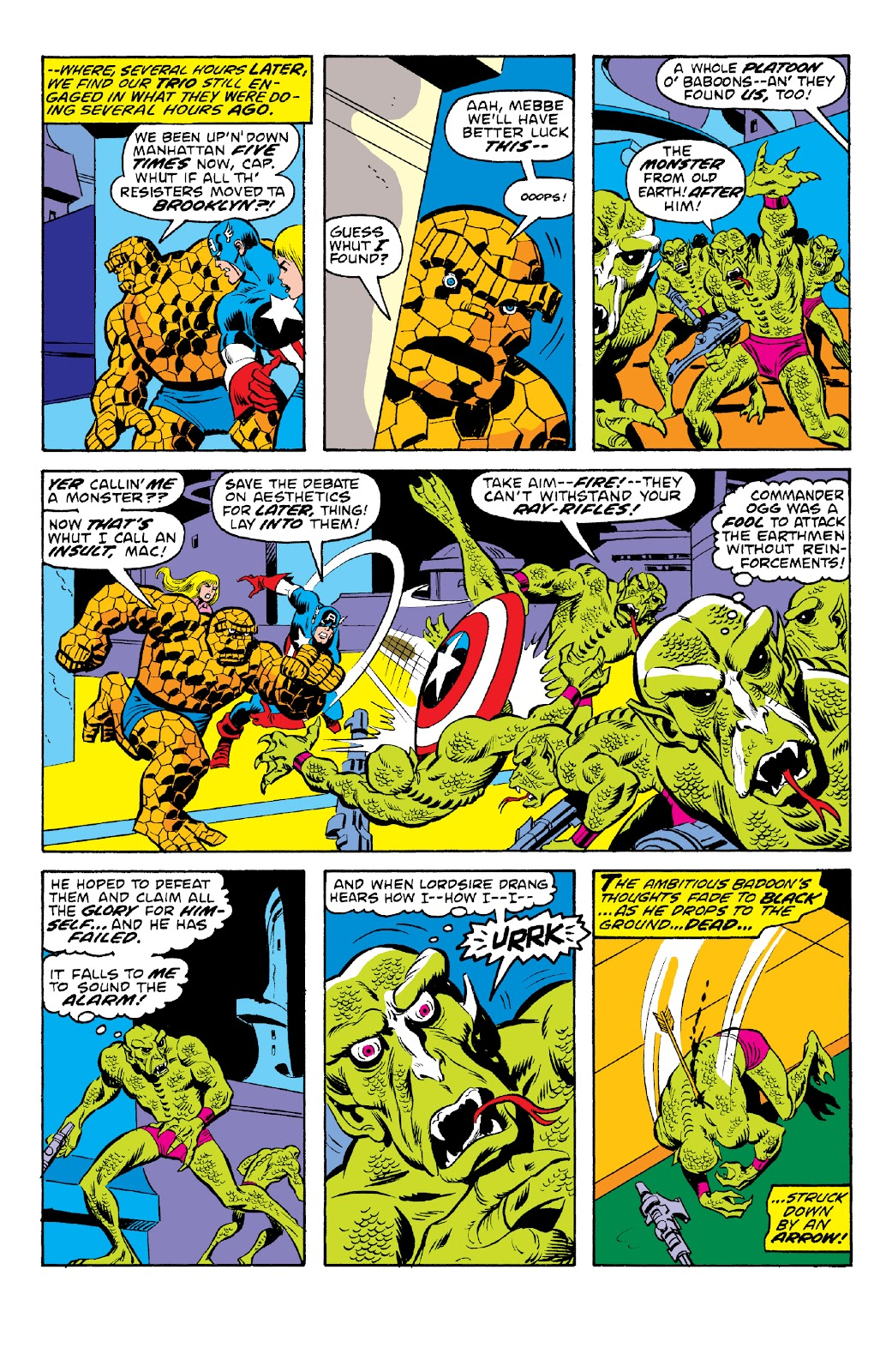 Read online Marvel Two-In-One Epic Collection: Cry Monster comic -  Issue # TPB (Part 2) - 34