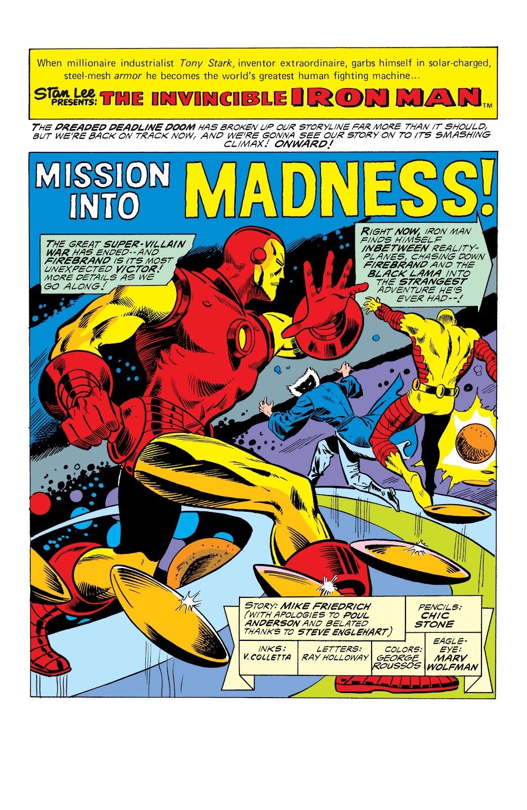 Read online Marvel Masterworks: The Invincible Iron Man comic -  Issue # TPB 10 (Part 3) - 14