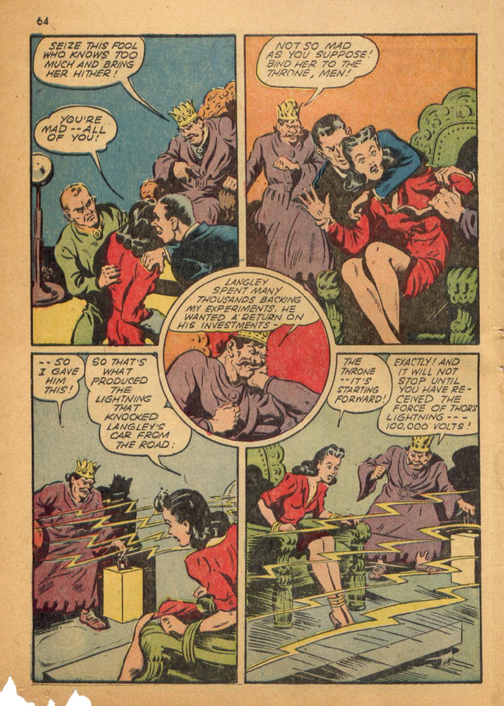 Read online Shadow Comics comic -  Issue #32 - 65