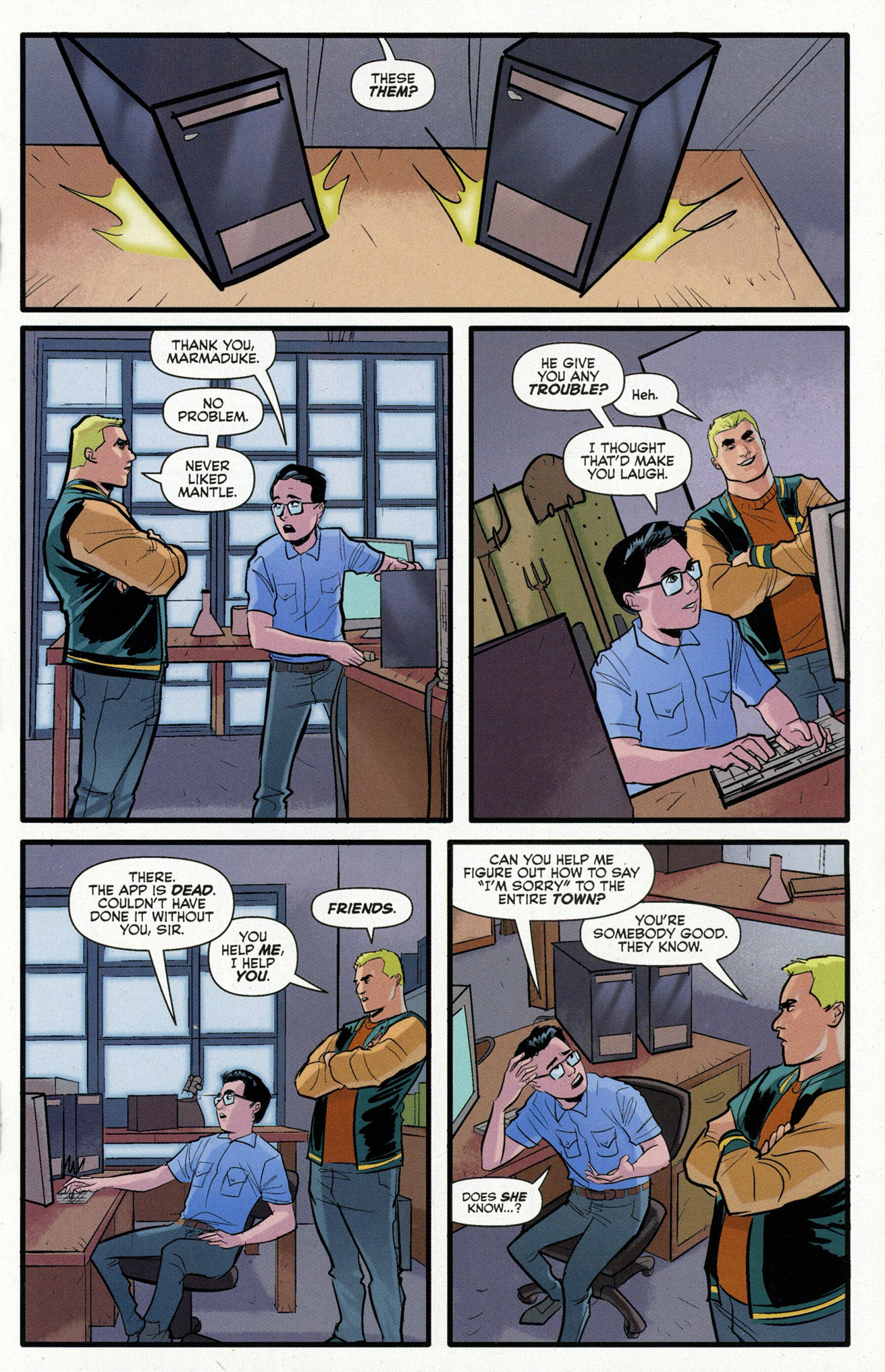 Read online Archie (2015) comic -  Issue #16 - 19