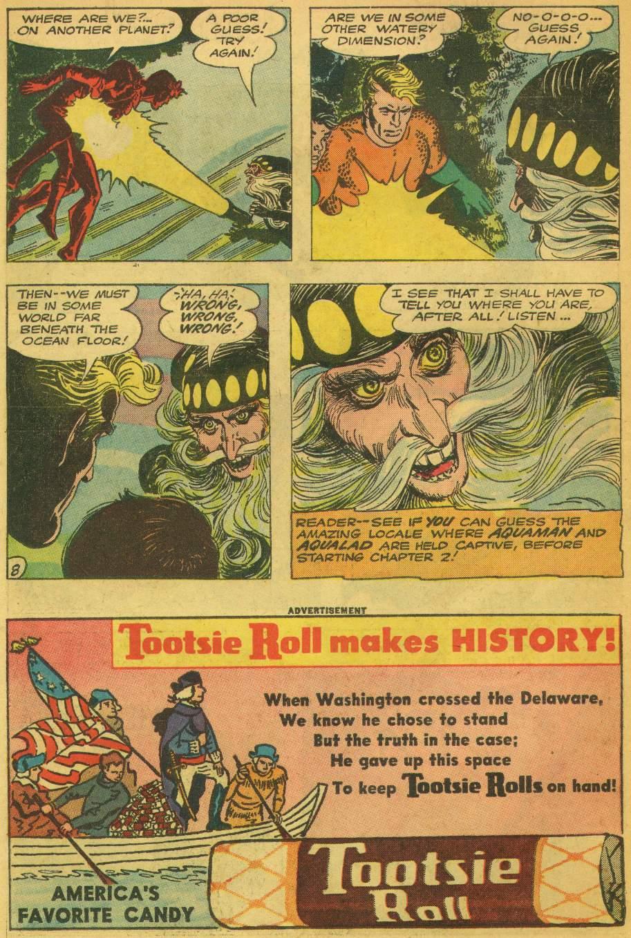 Read online Aquaman (1962) comic -  Issue #5 - 10