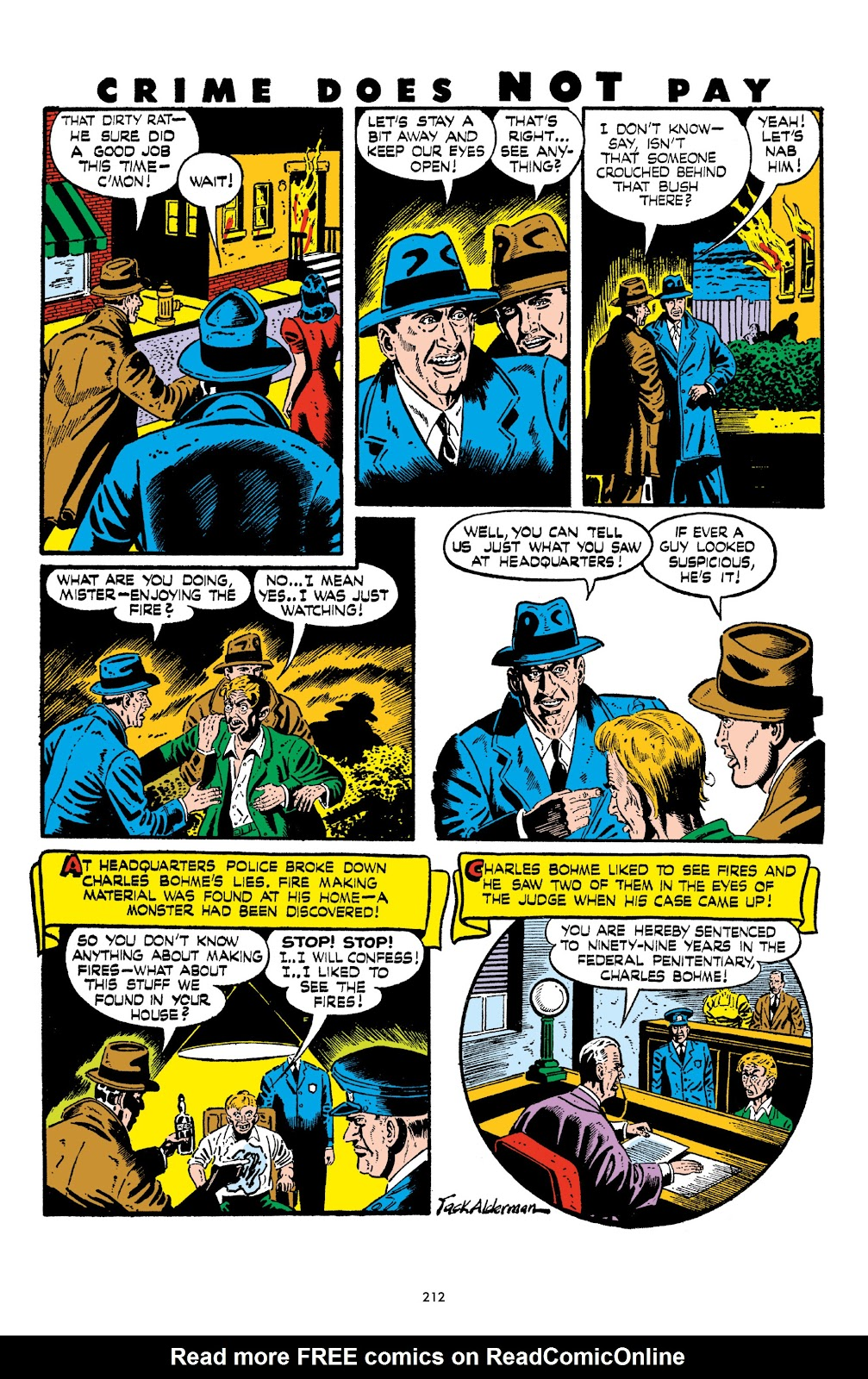 Read online Crime Does Not Pay Archives comic -  Issue # TPB 6 (Part 3) - 13
