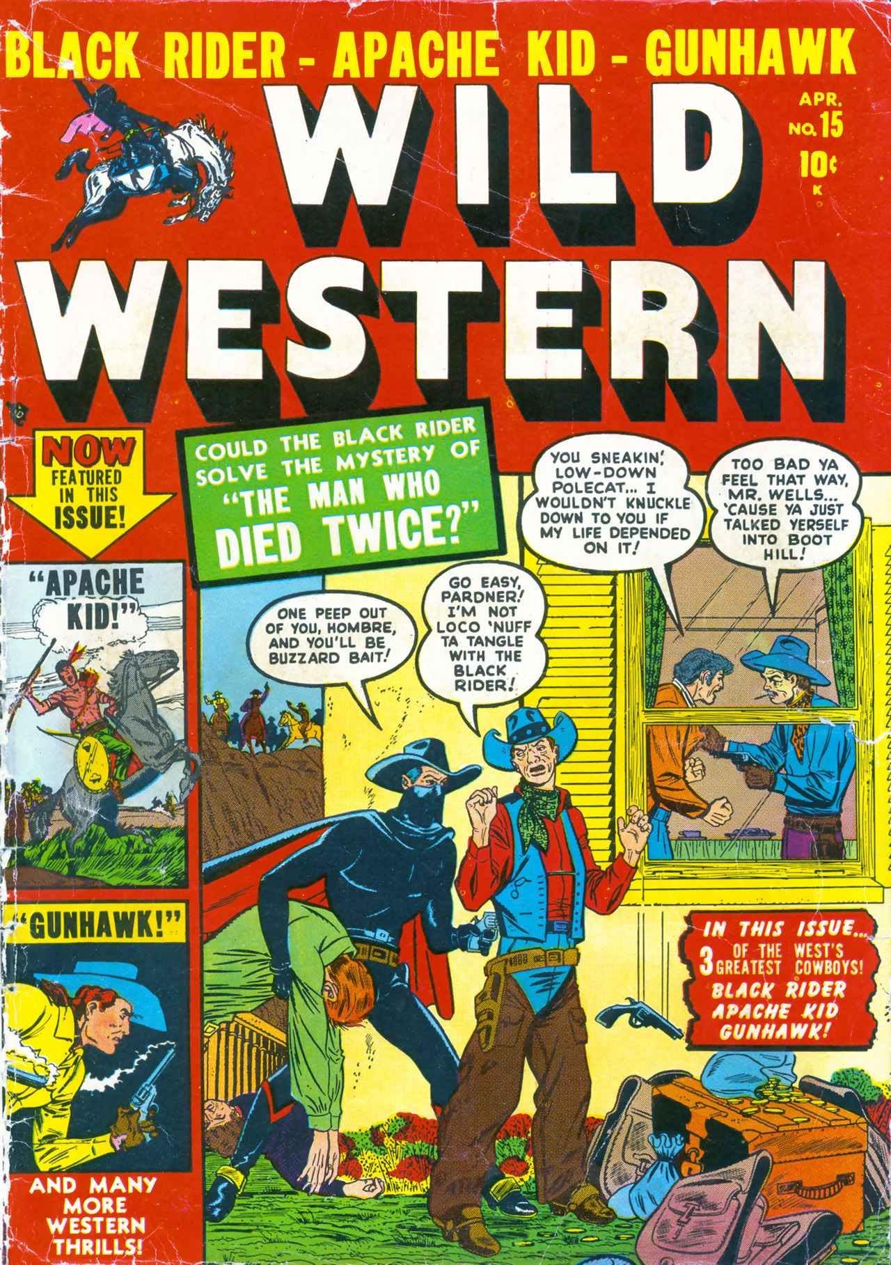 Wild Western 15 Page 1