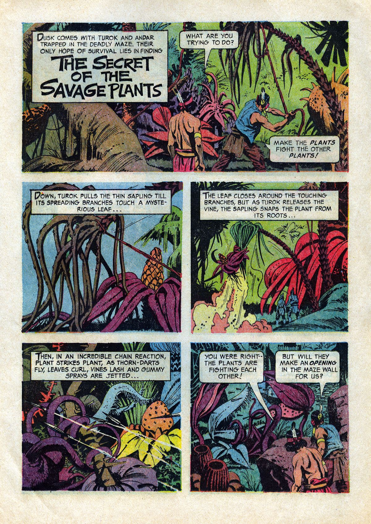 Read online Turok, Son of Stone comic -  Issue #45 - 25