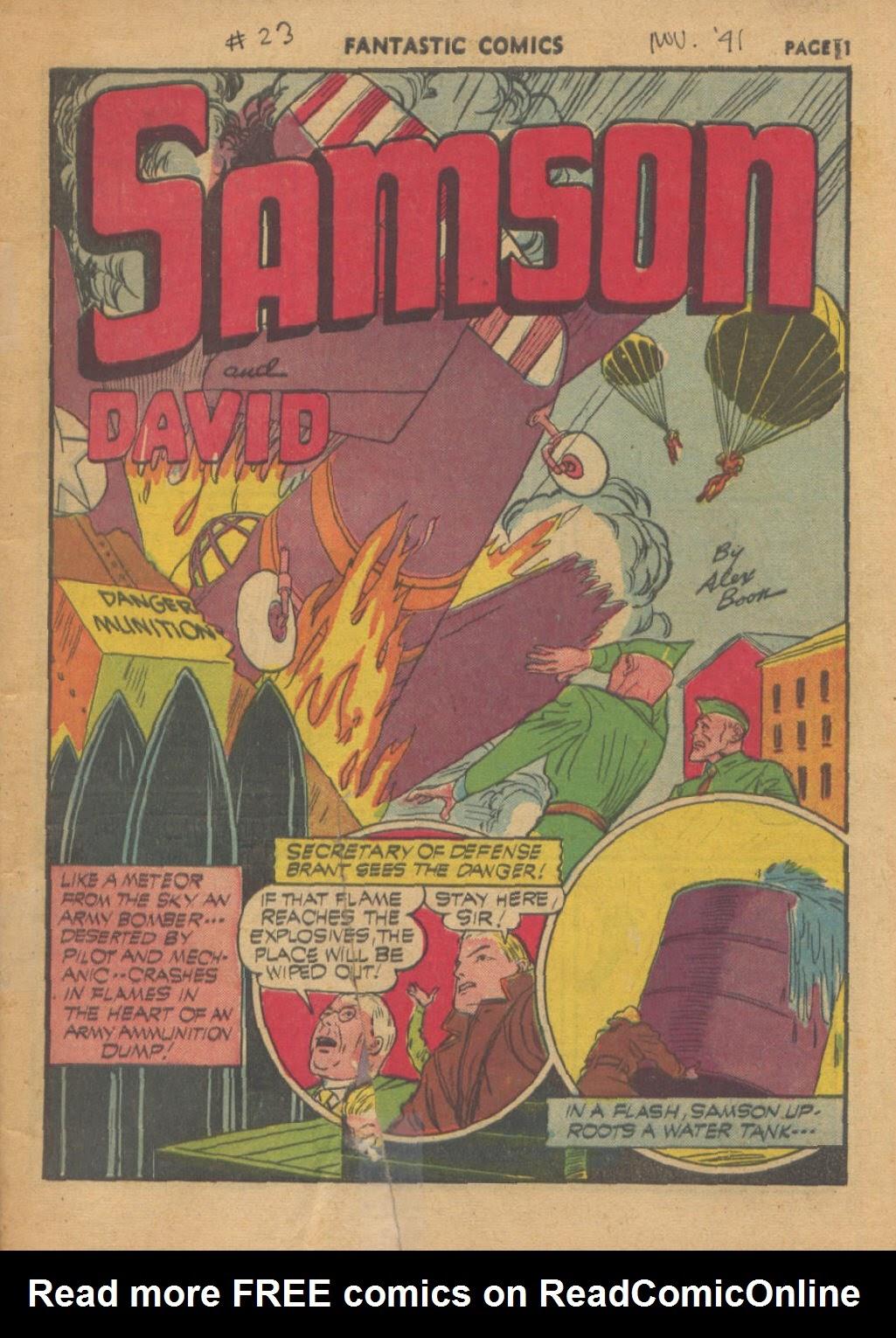 Fantastic Comics 23 Page 2