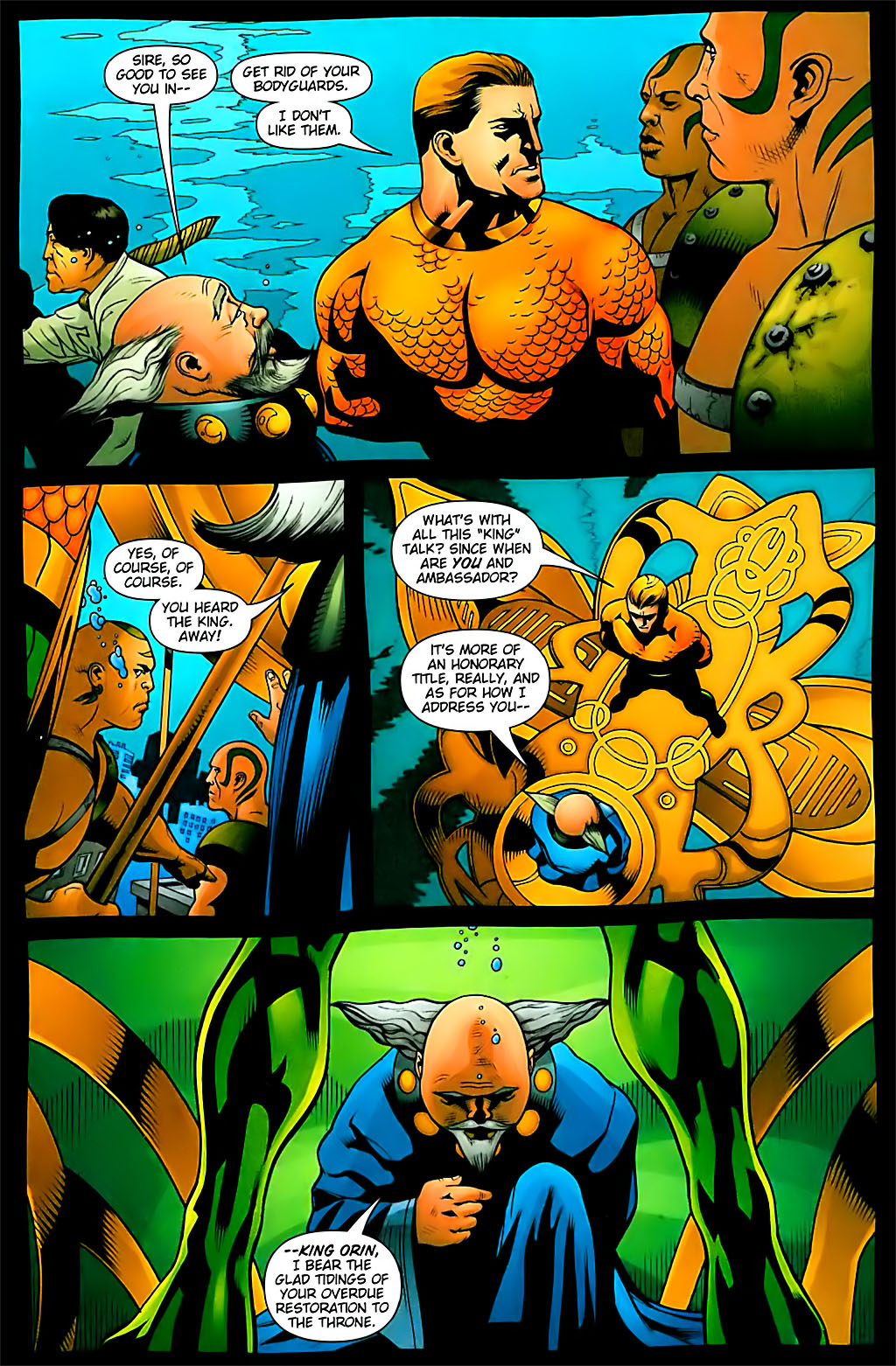 Read online Aquaman (2003) comic -  Issue #29 - 8