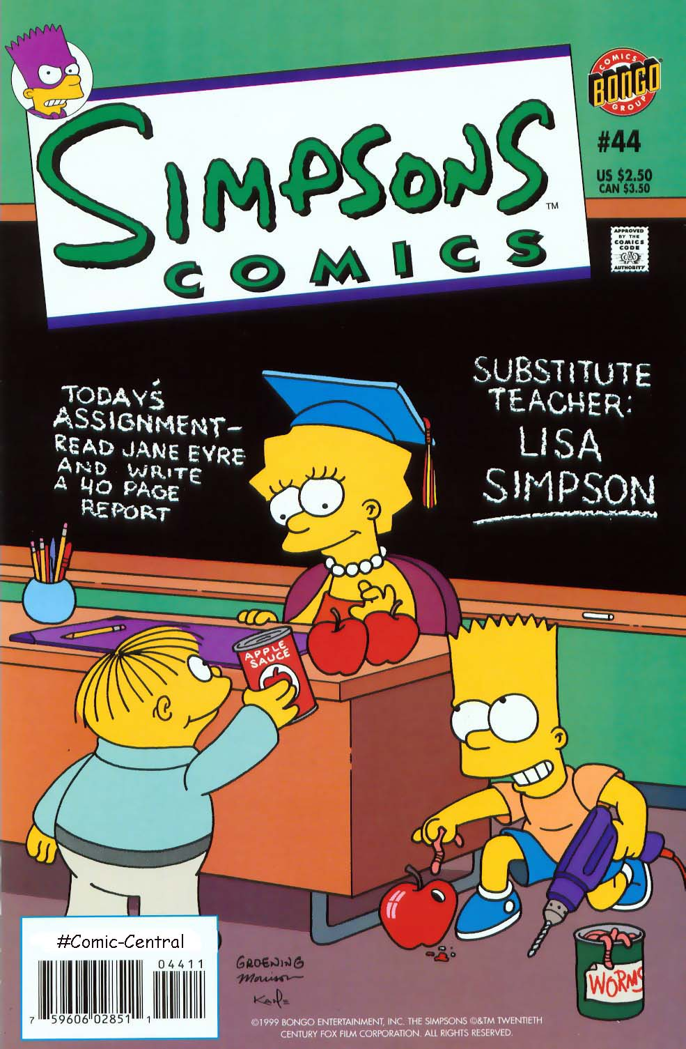 Read online Simpsons Comics comic -  Issue #44 - 1