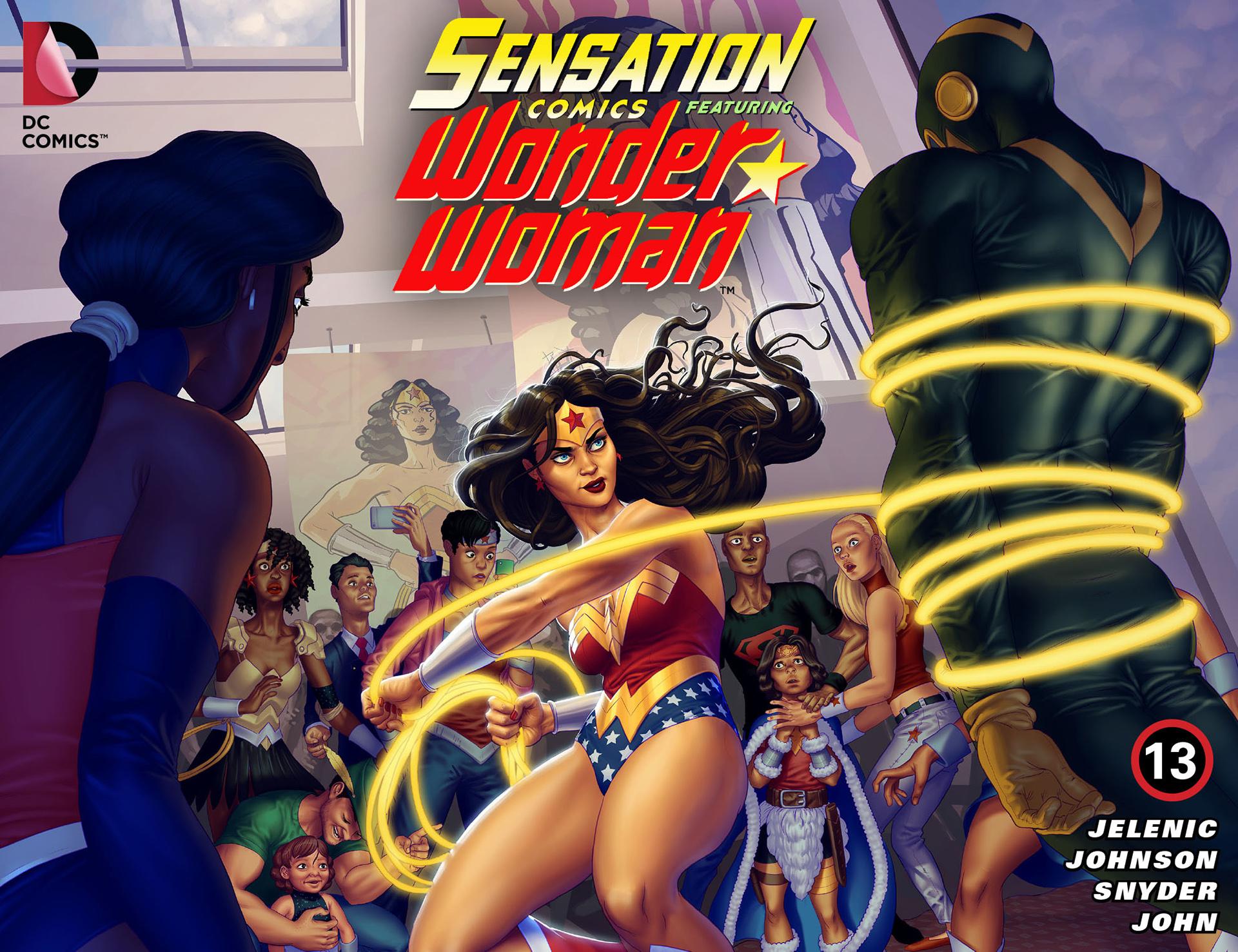 Read online Sensation Comics Featuring Wonder Woman comic -  Issue #13 - 1