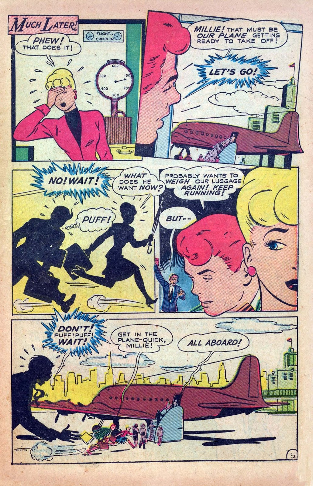 Read online Millie the Model comic -  Issue #9 - 7