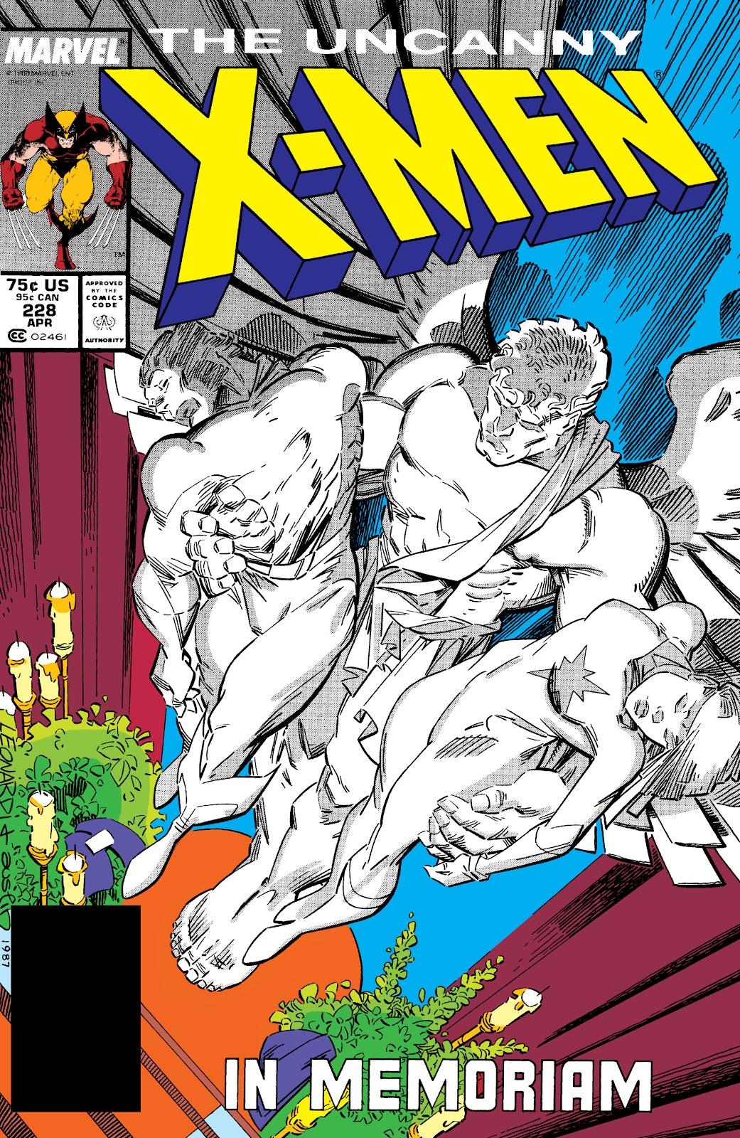 Uncanny X-Men (1963) issue 228 - Page 1