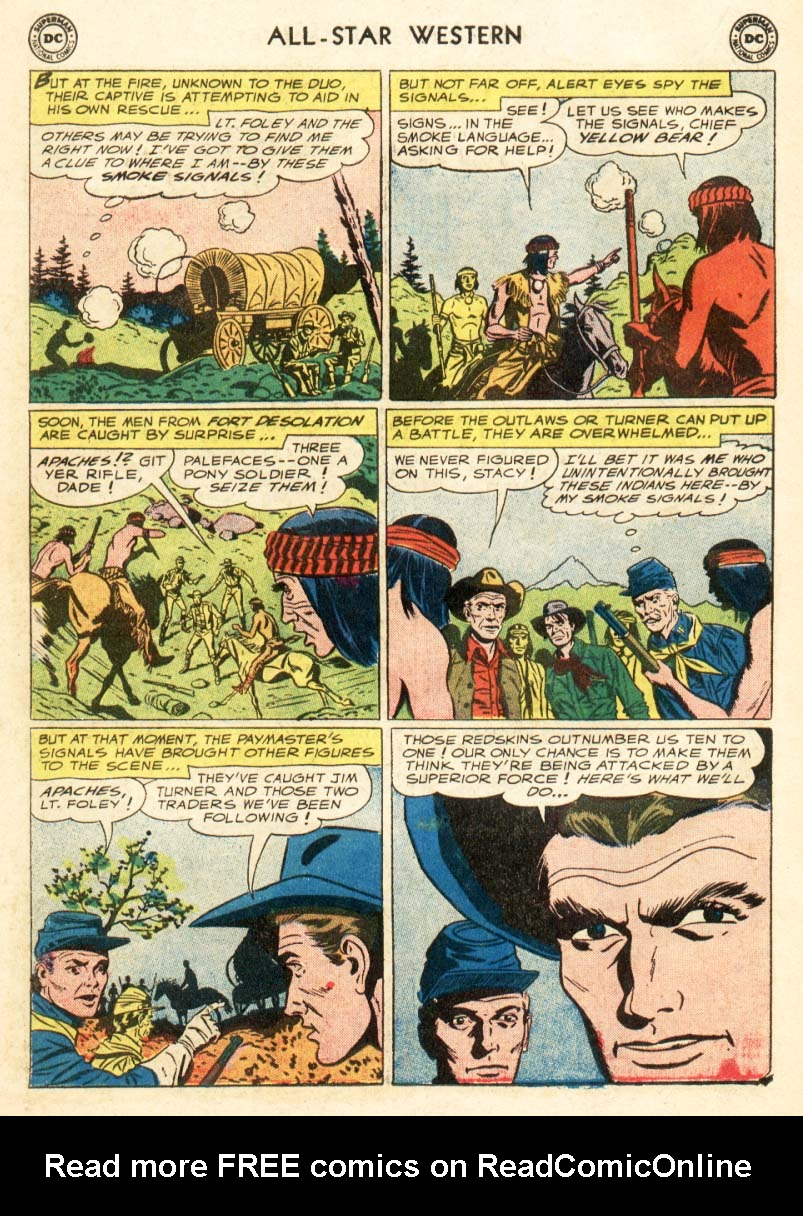 Read online All-Star Western (1951) comic -  Issue #97 - 18
