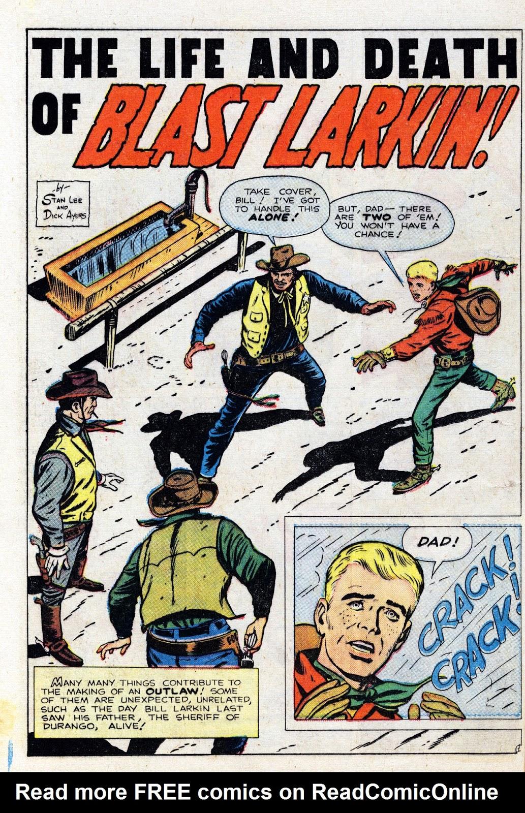 Gunsmoke Western issue 76 - Page 12