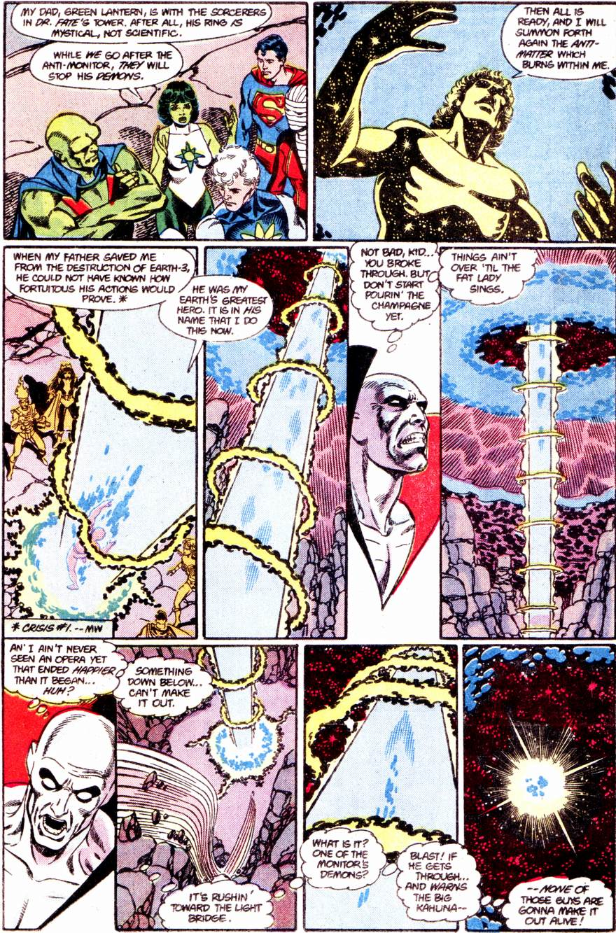 Crisis on Infinite Earths (1985) 12 Page 13