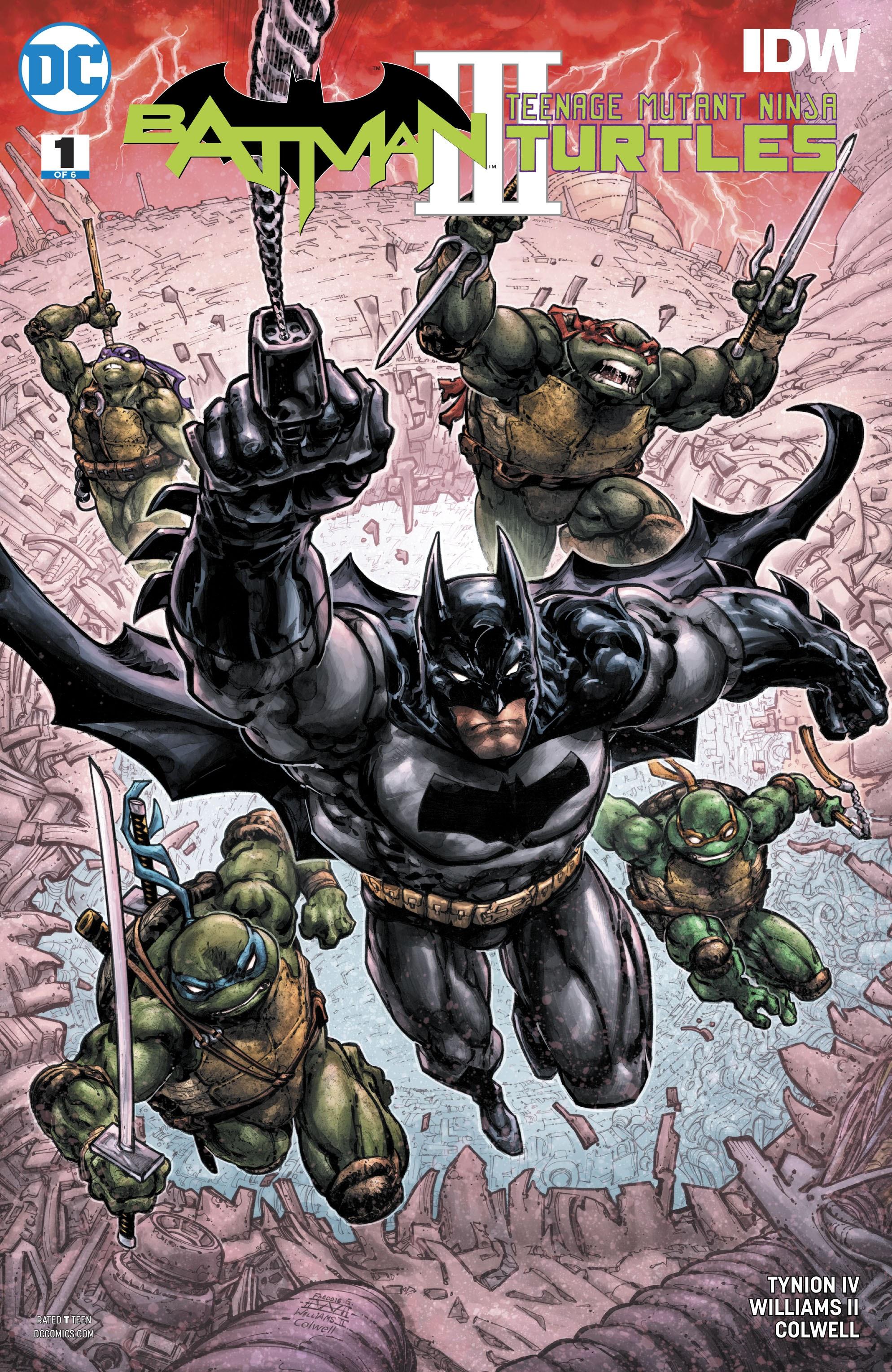 Batman/Teenage Mutant Ninja Turtles III 1 Page 1