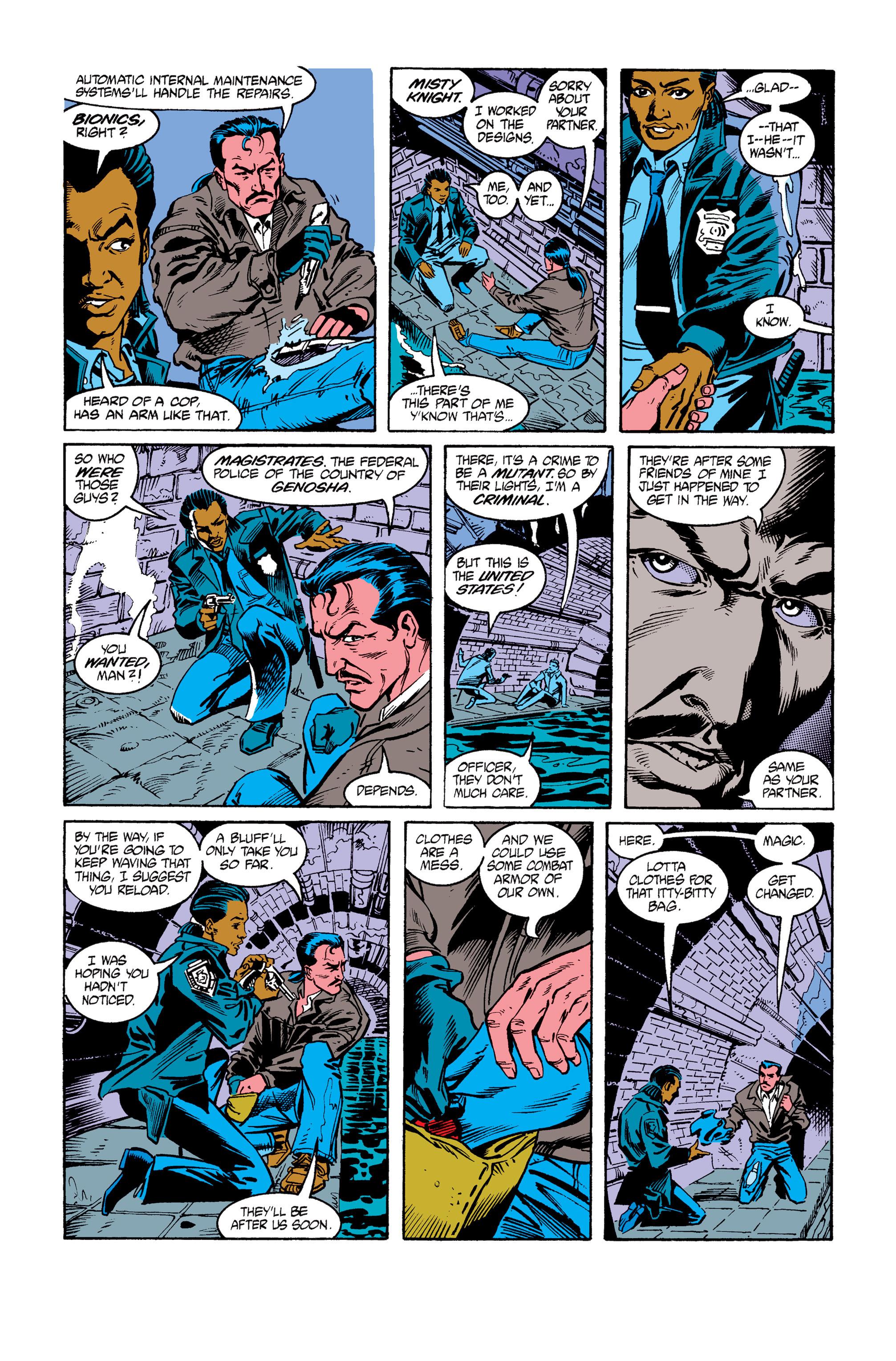Read online Uncanny X-Men (1963) comic -  Issue #264 - 7