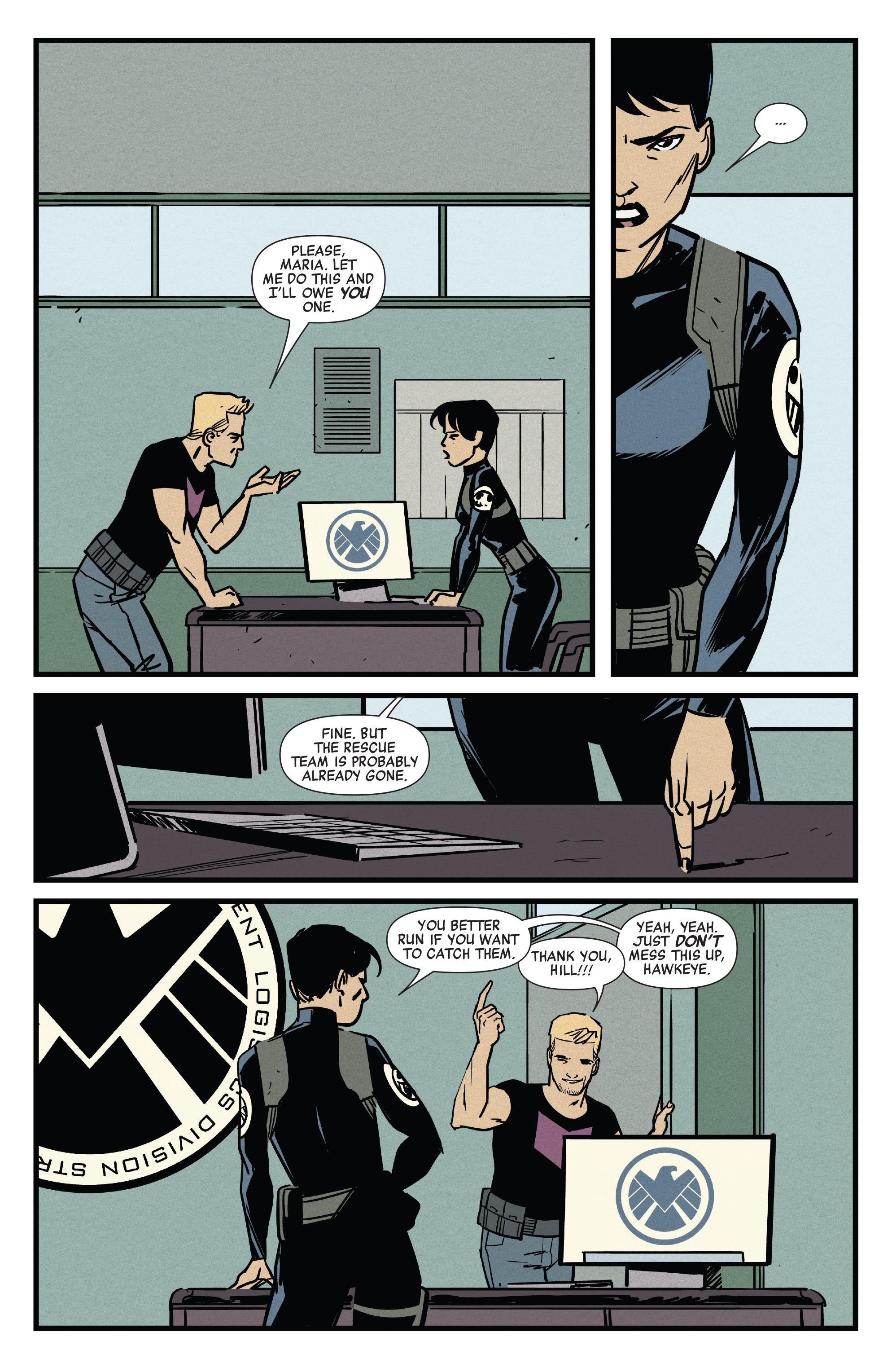 Read online All-New Hawkeye (2016) comic -  Issue #4 - 9