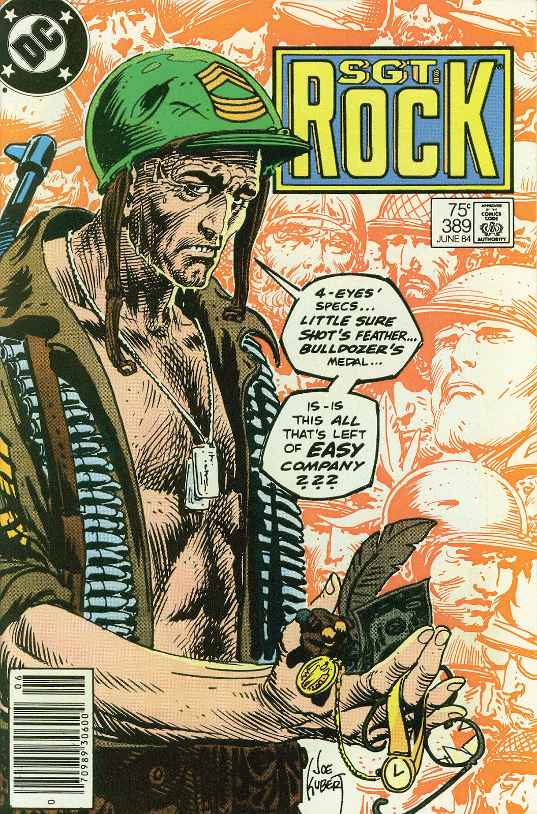 Sgt. Rock issue 389 - Page 1