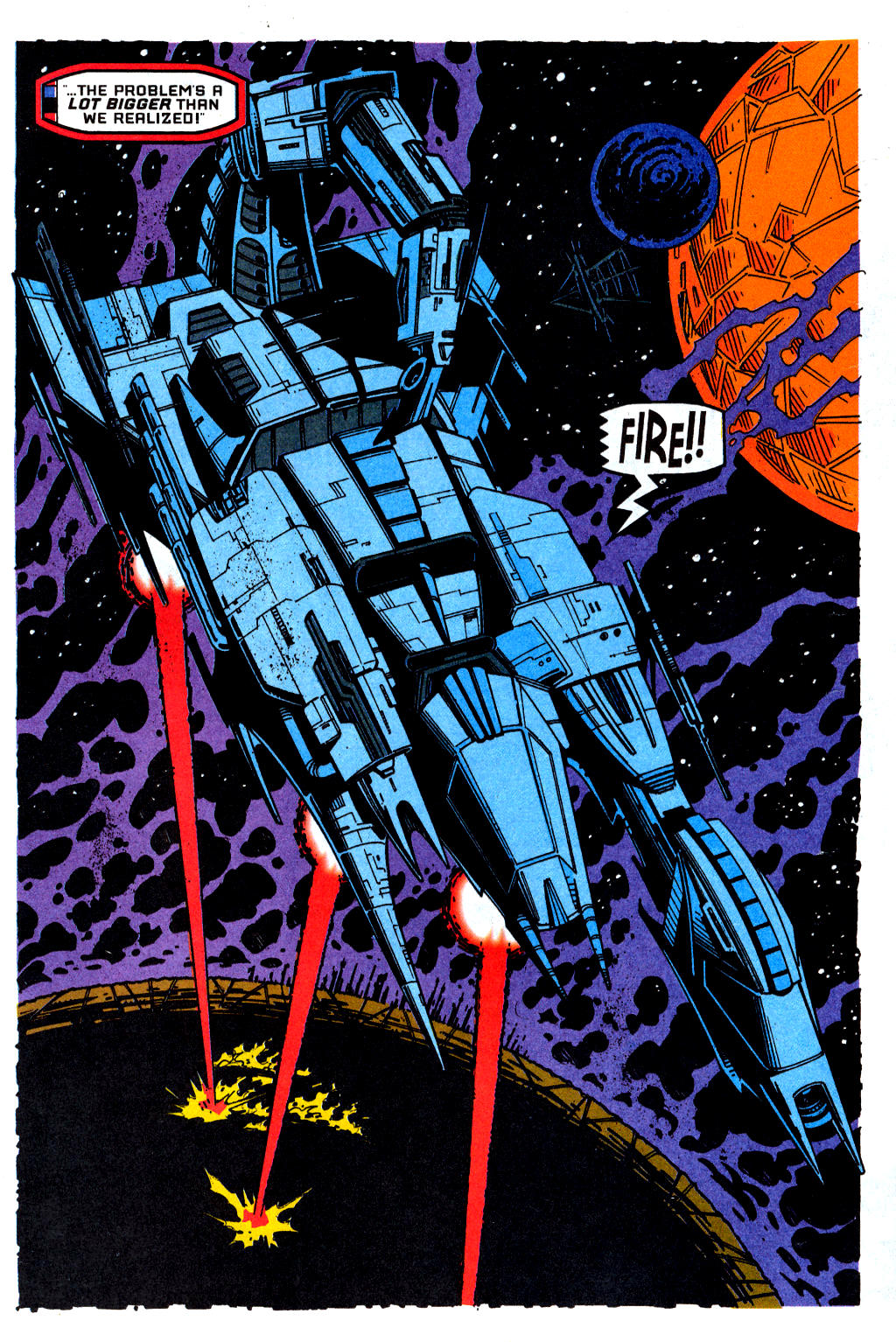 Read online Transformers: Generation 2 comic -  Issue #1 - 22