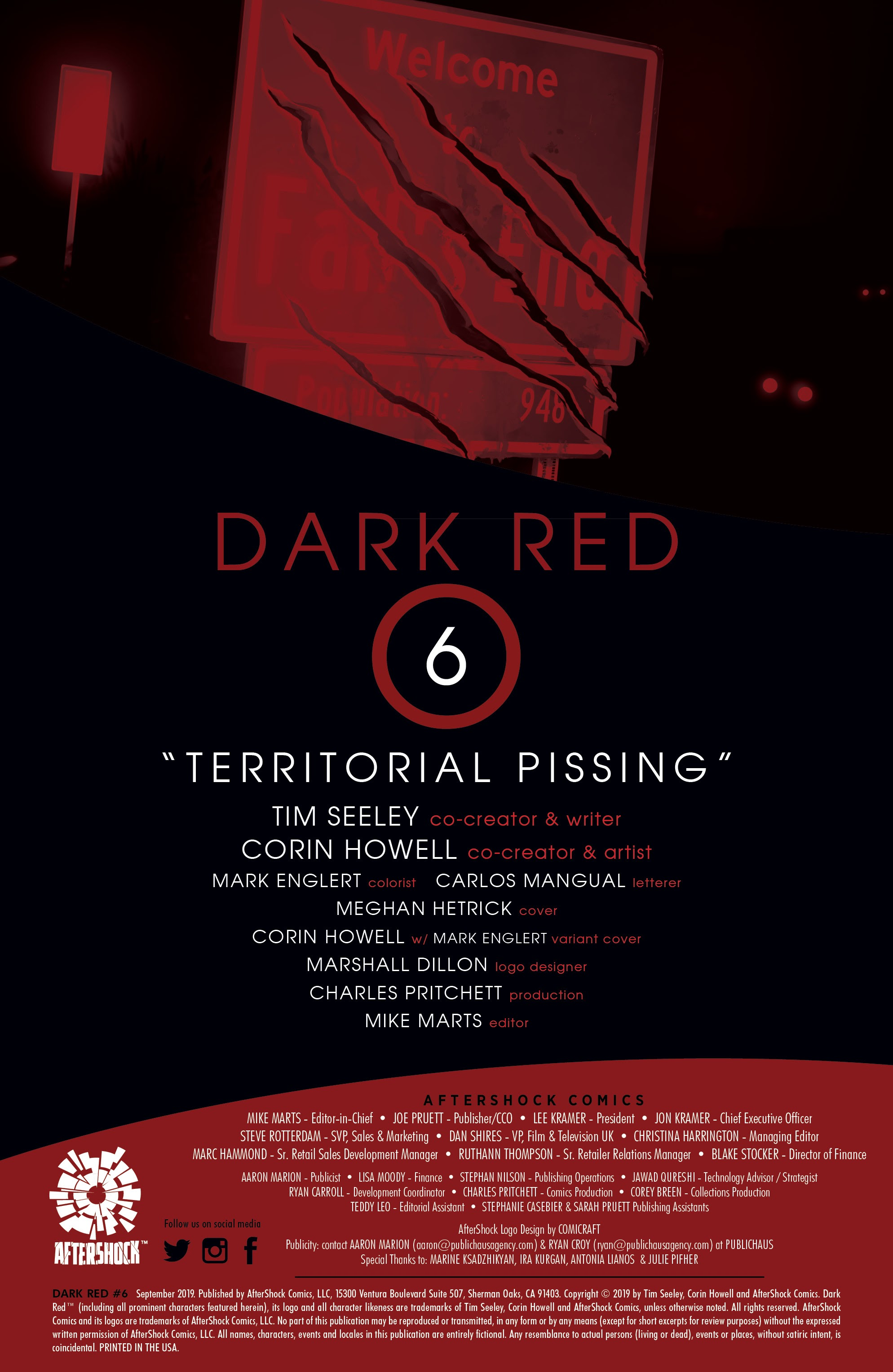 Read online Dark Red comic -  Issue #6 - 2