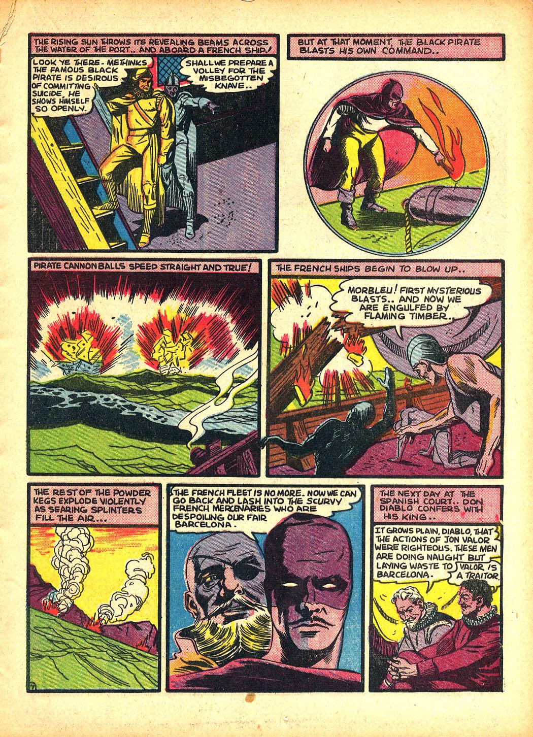Read online Sensation (Mystery) Comics comic -  Issue #5 - 23