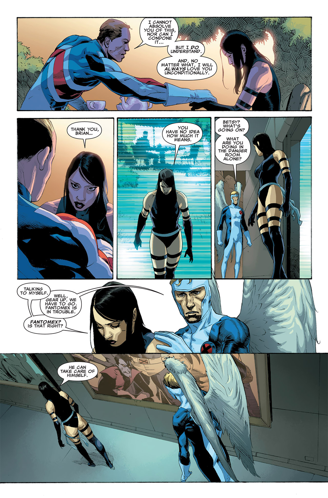 Read online Uncanny X-Force (2010) comic -  Issue #6 - 9