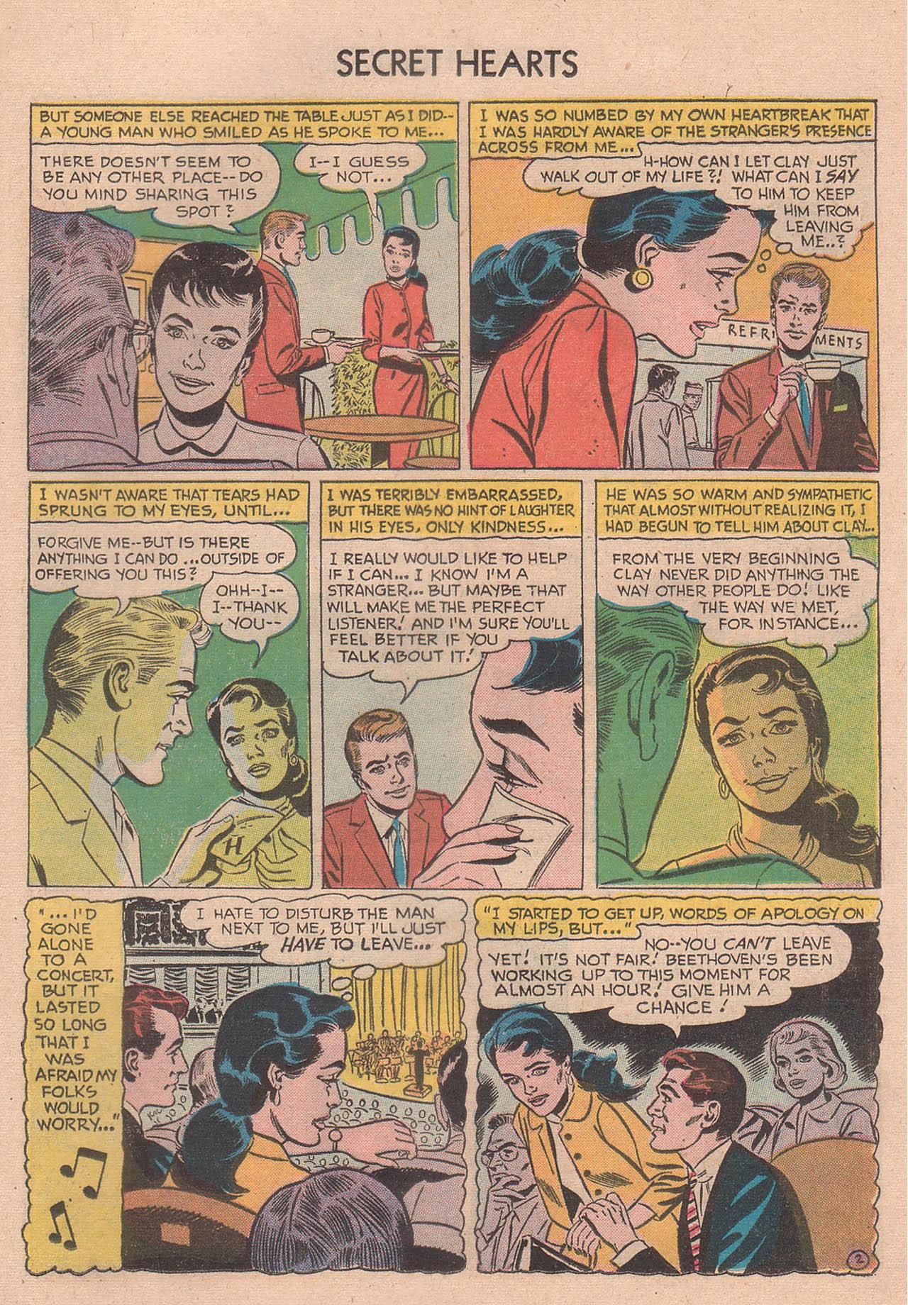 Read online Secret Hearts comic -  Issue #39 - 21