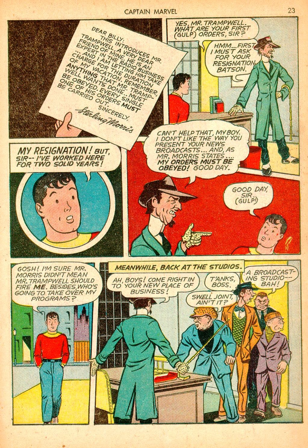Captain Marvel Adventures issue 10 - Page 23