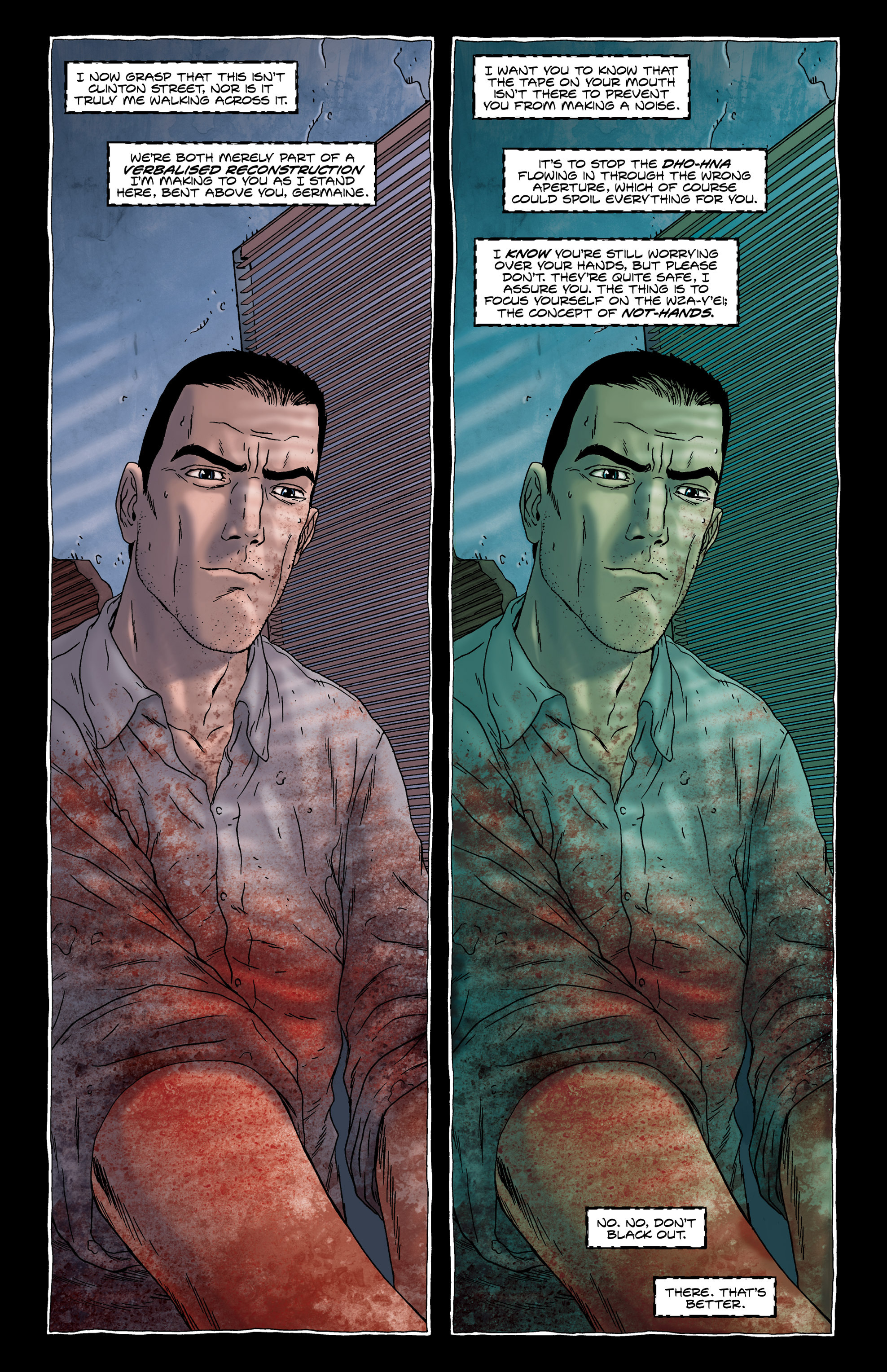 Read online Alan Moore's The Courtyard comic -  Issue # TPB - 49