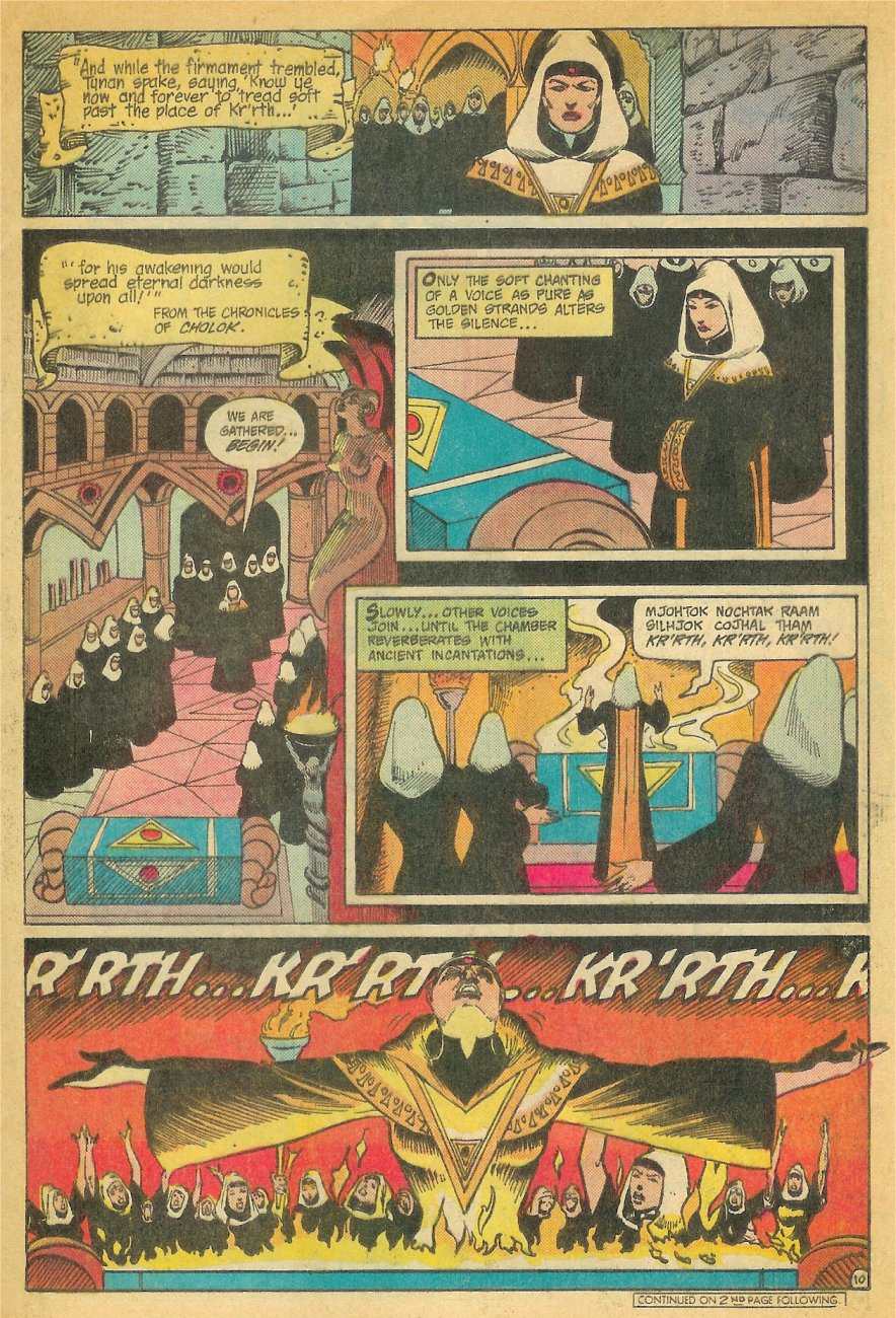 Read online Arion, Lord of Atlantis comic -  Issue #26 - 11