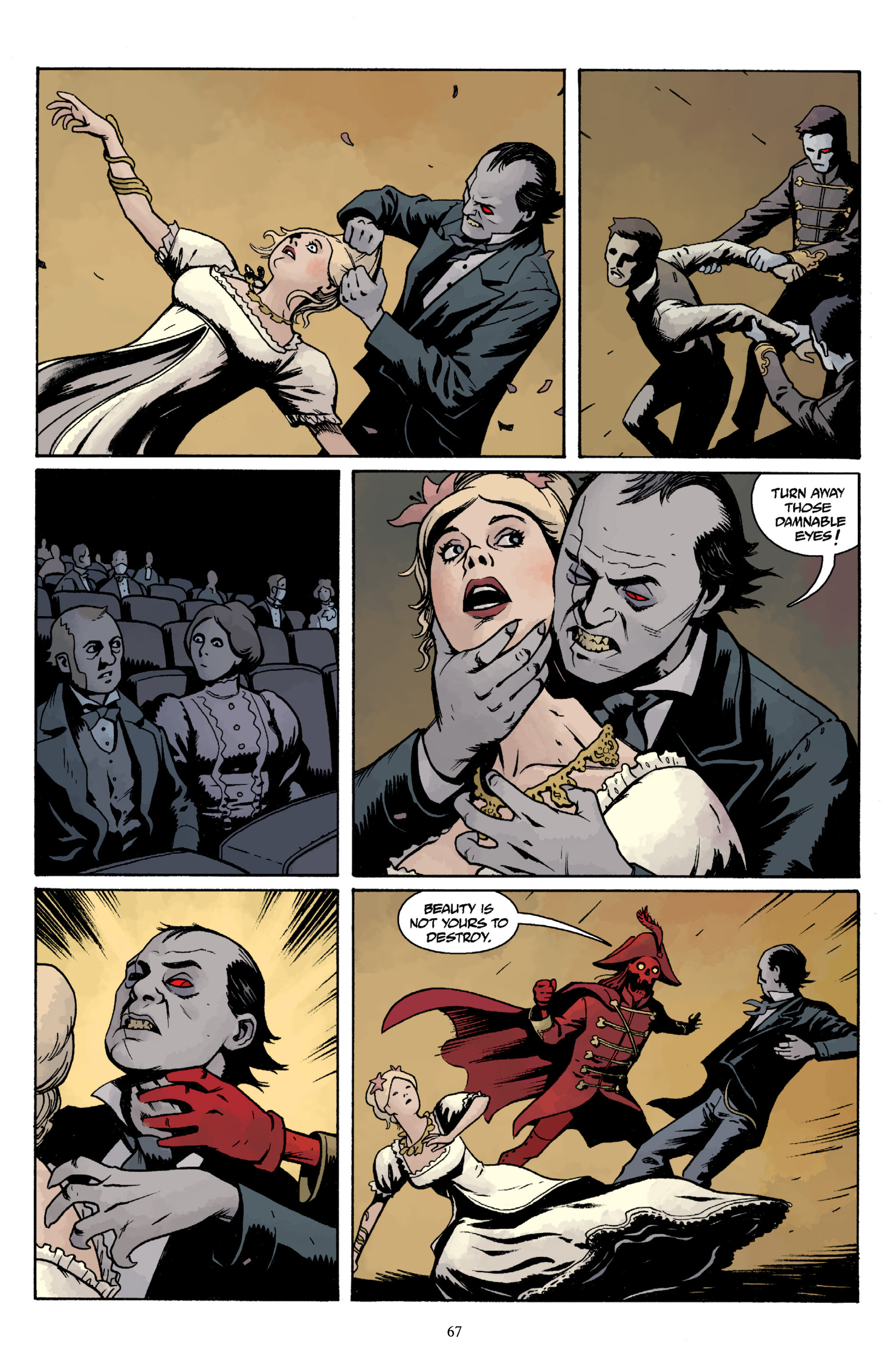Read online Baltimore Volume 3: A Passing Stranger and Other Stories comic -  Issue # Full - 69