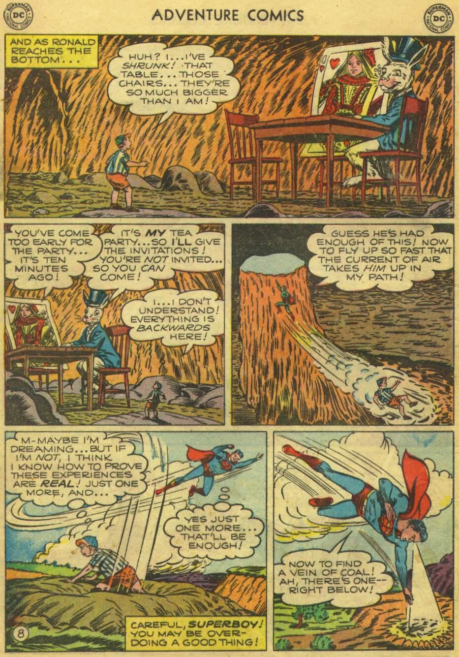Read online Adventure Comics (1938) comic -  Issue #168 - 10