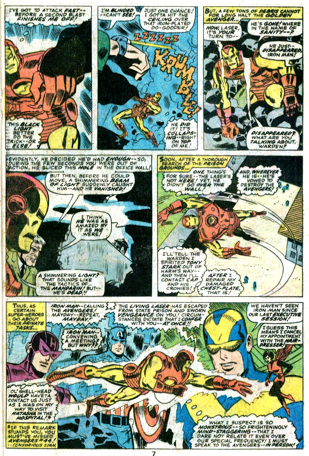 Giant-Size Avengers (1974) issue 5 - Page 6