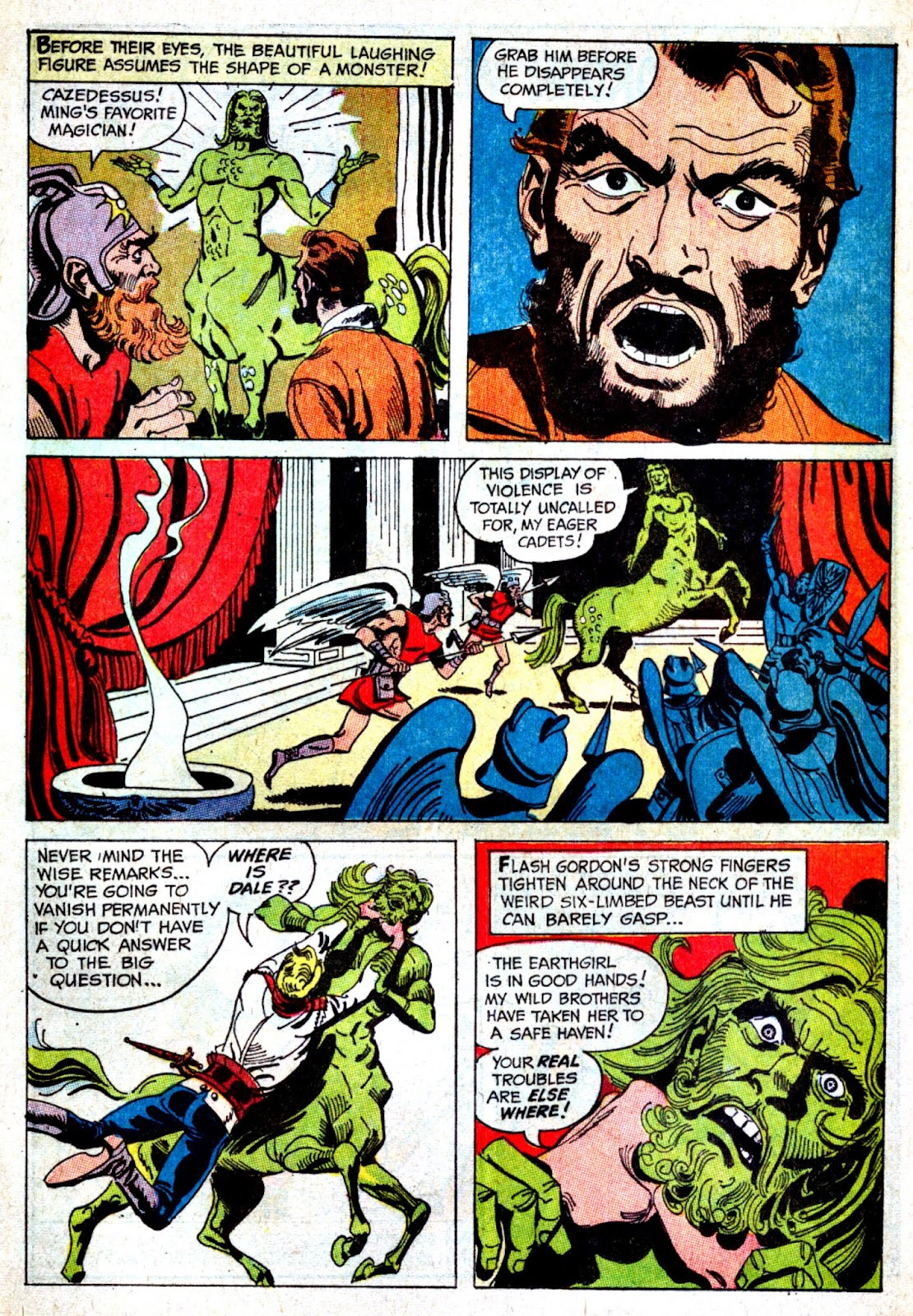 Flash Gordon (1966) issue 3 - Page 21