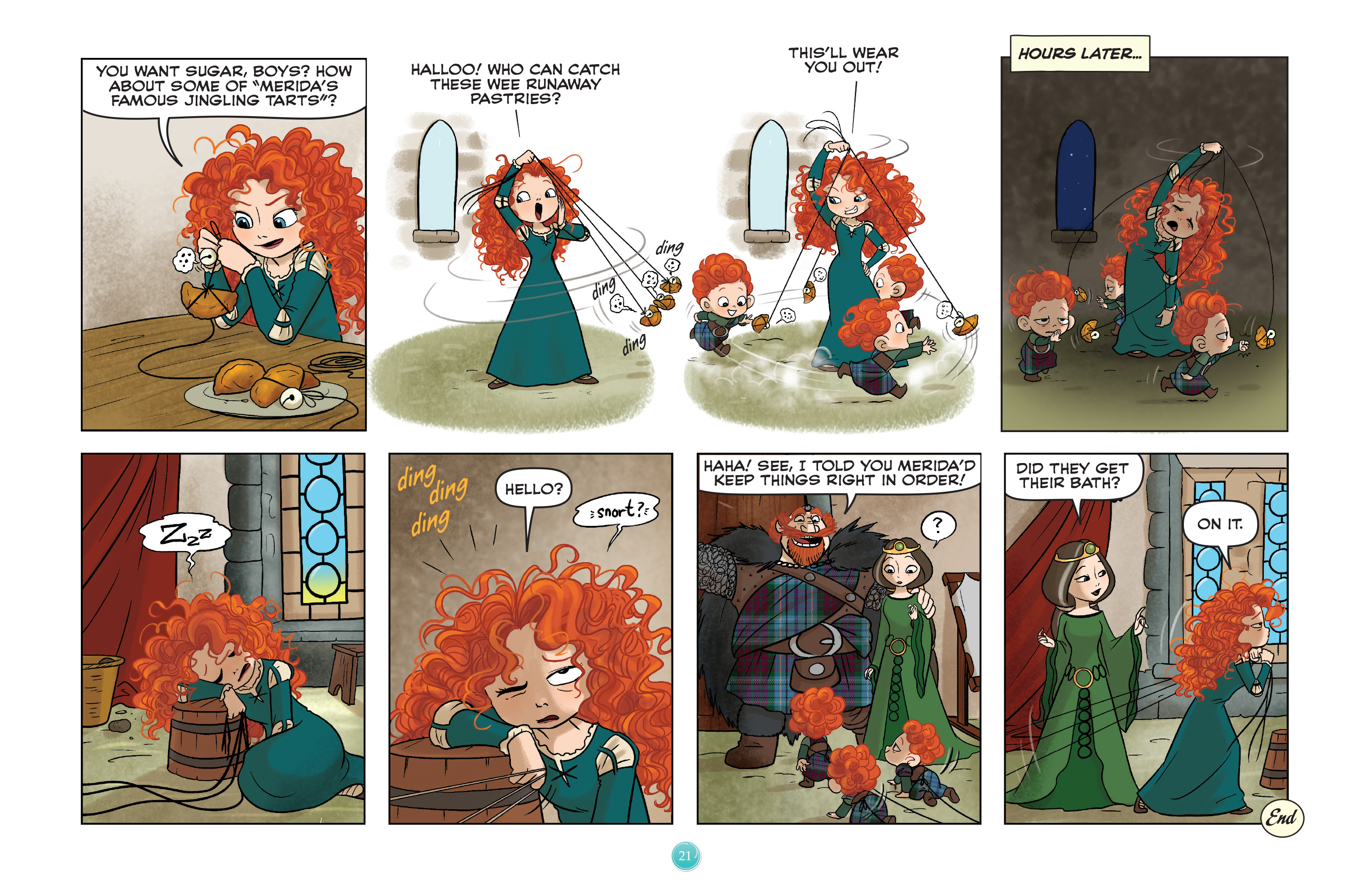 Read online Disney Princess comic -  Issue #7 - 24