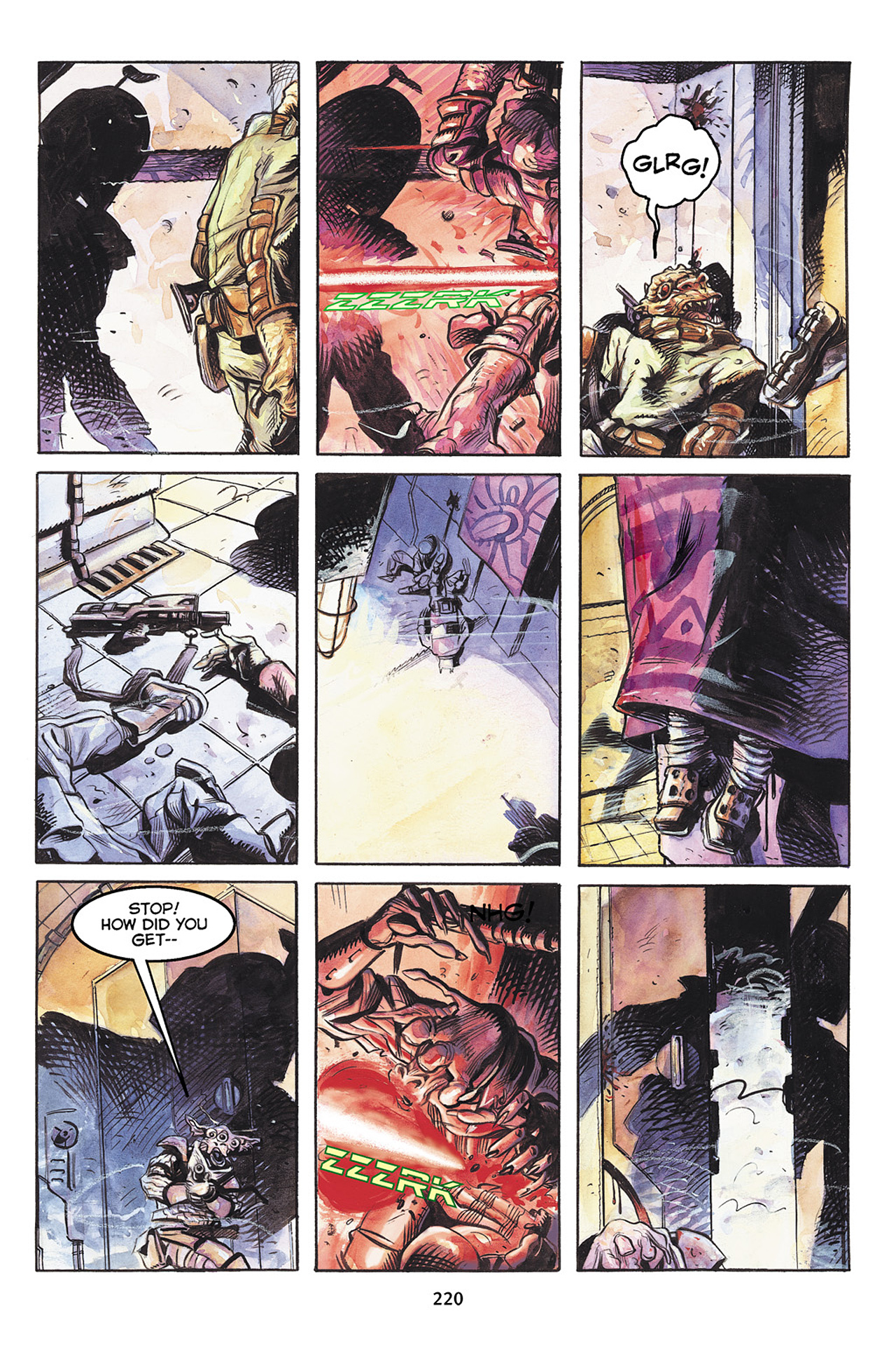 Read online Star Wars Omnibus comic -  Issue # Vol. 10 - 219