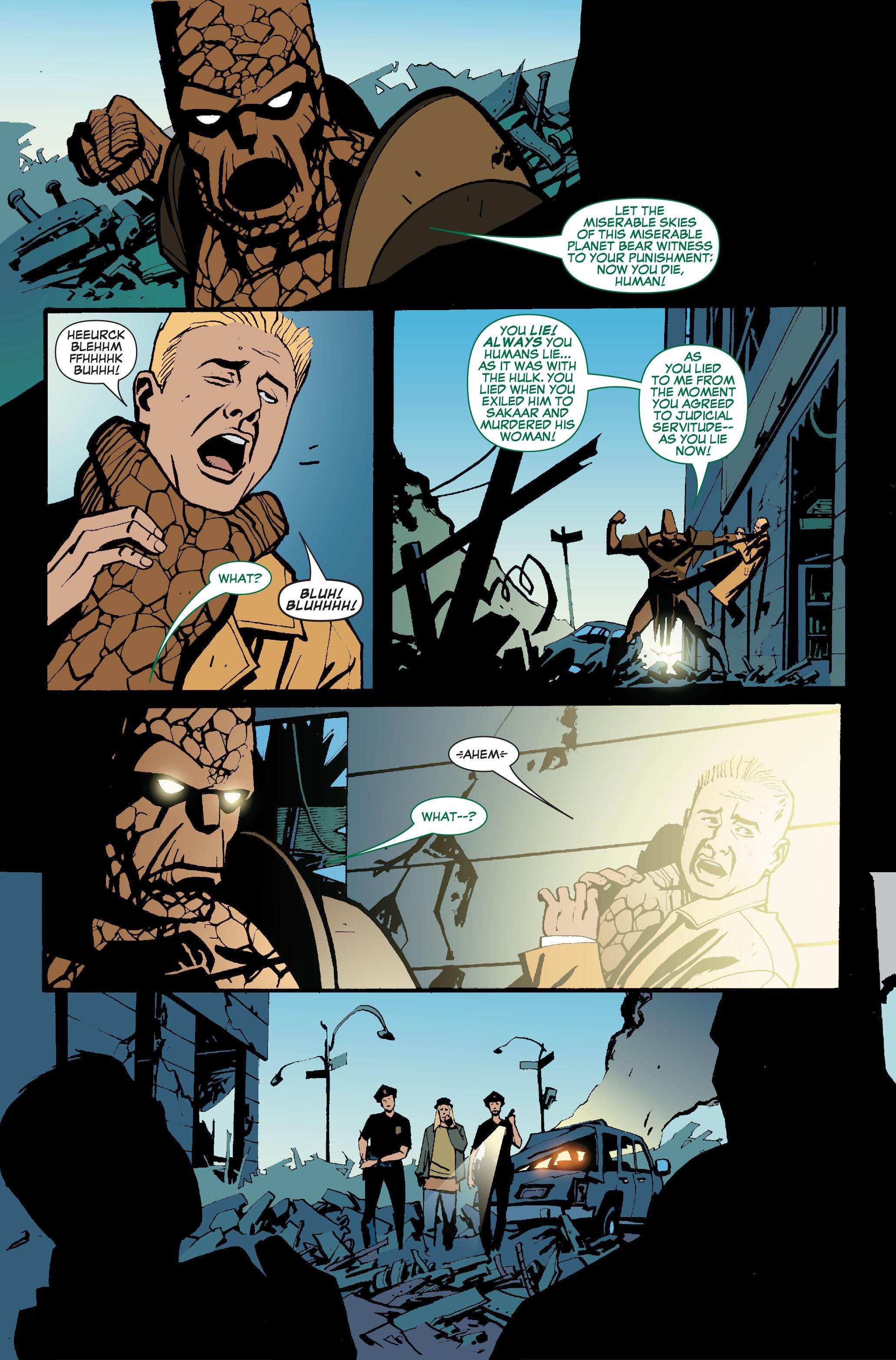 Read online World War Hulk: Front Line comic -  Issue #5 - 16