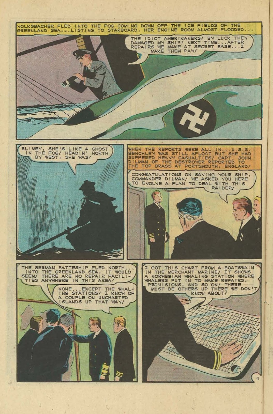 Read online Fightin' Navy comic -  Issue #127 - 12