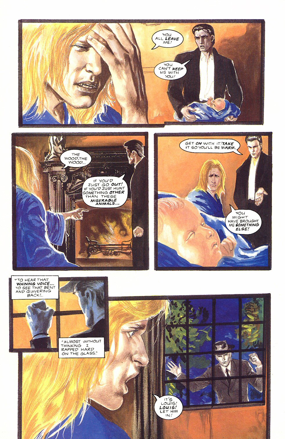 Read online Anne Rice's Interview with the Vampire comic -  Issue #12 - 14
