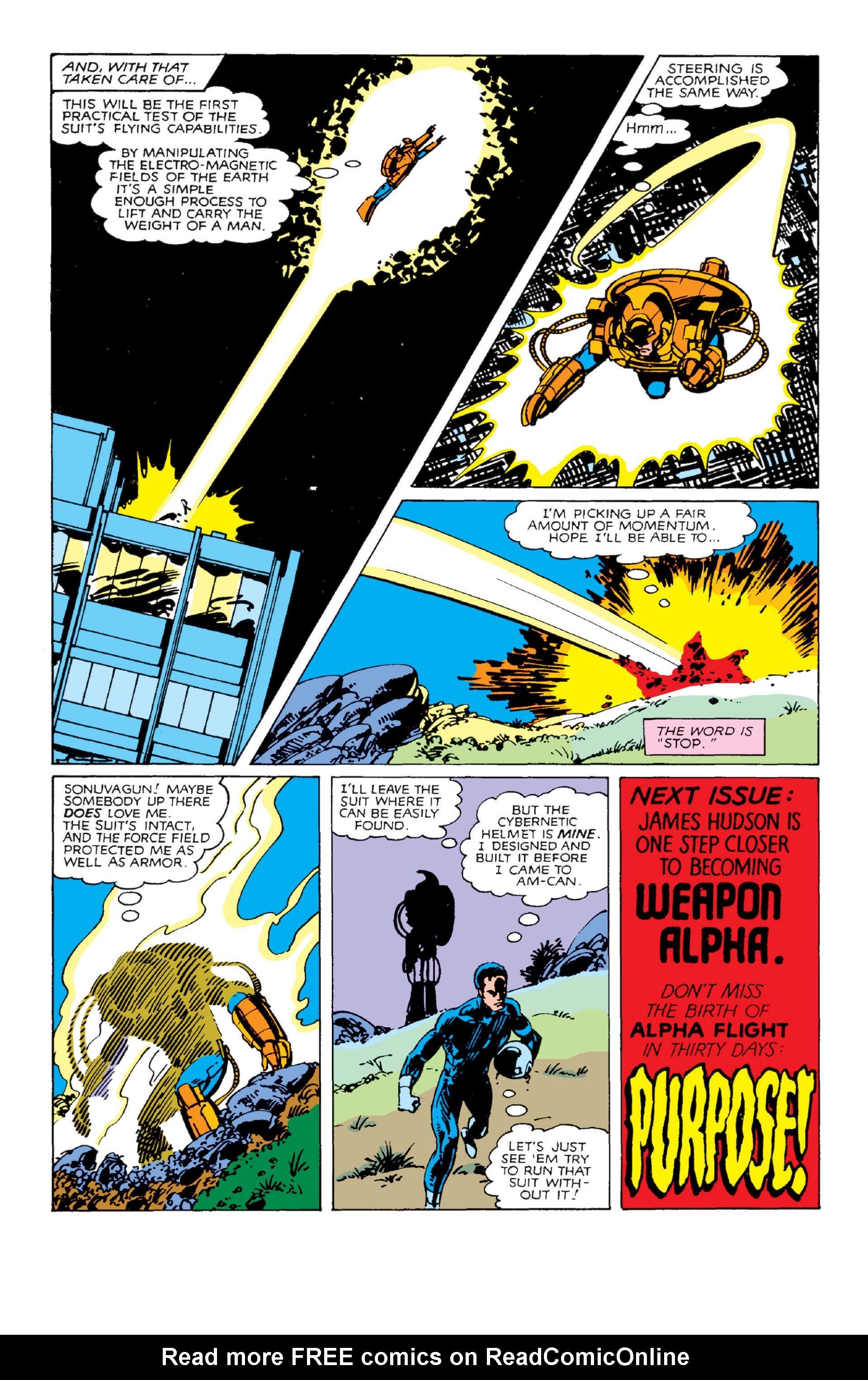 Read online Alpha Flight (1983) comic -  Issue #2 - 23