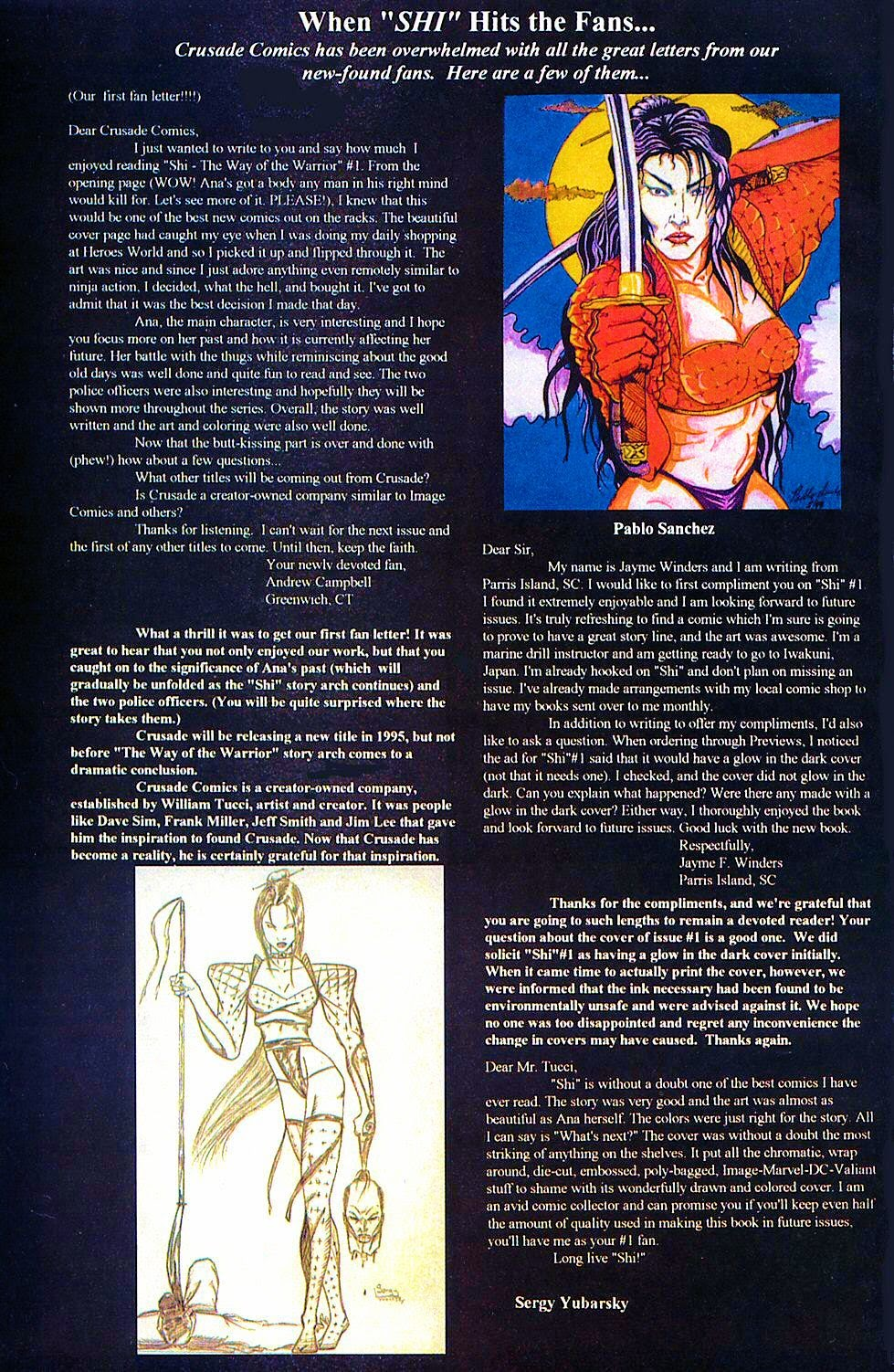 Read online Shi: The Way of the Warrior comic -  Issue #2 - 31