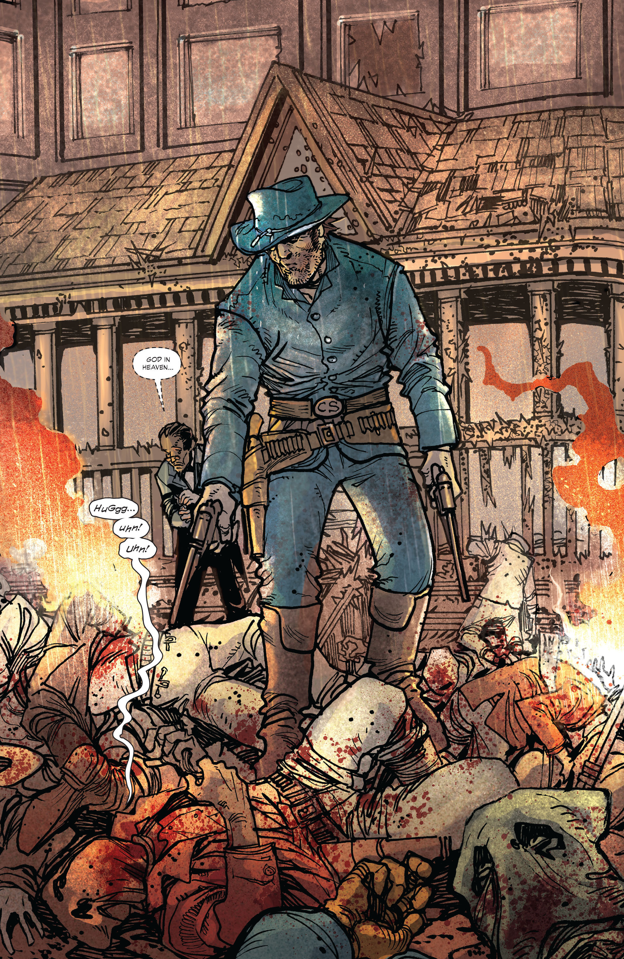 Read online All-Star Western (2011) comic -  Issue #2 - 10