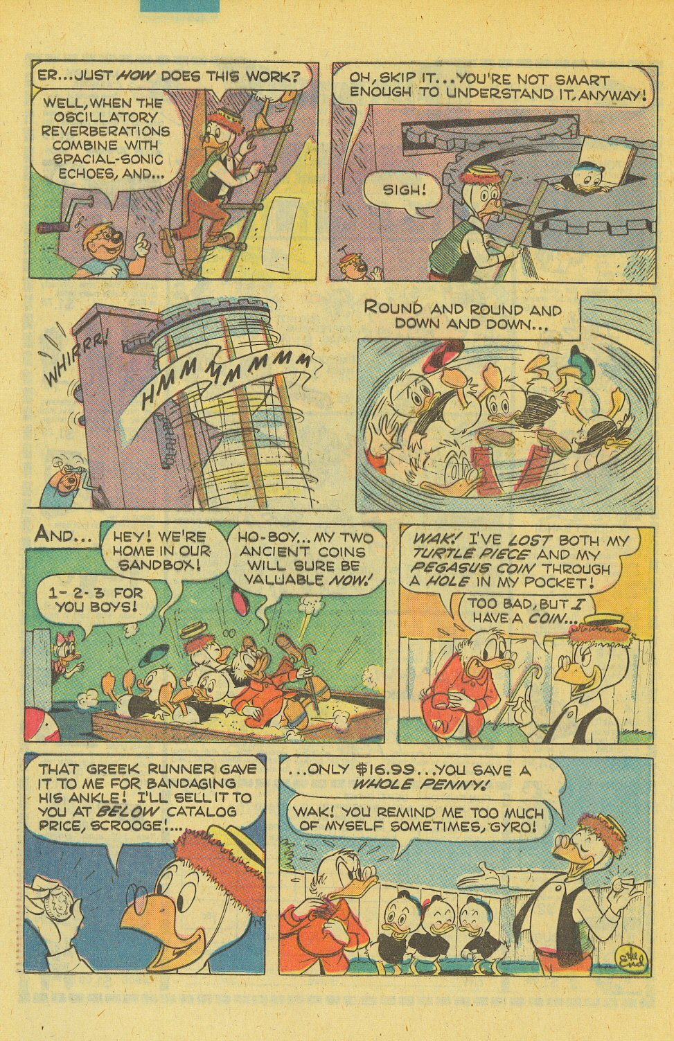 Read online Uncle Scrooge (1953) comic -  Issue #169 - 20