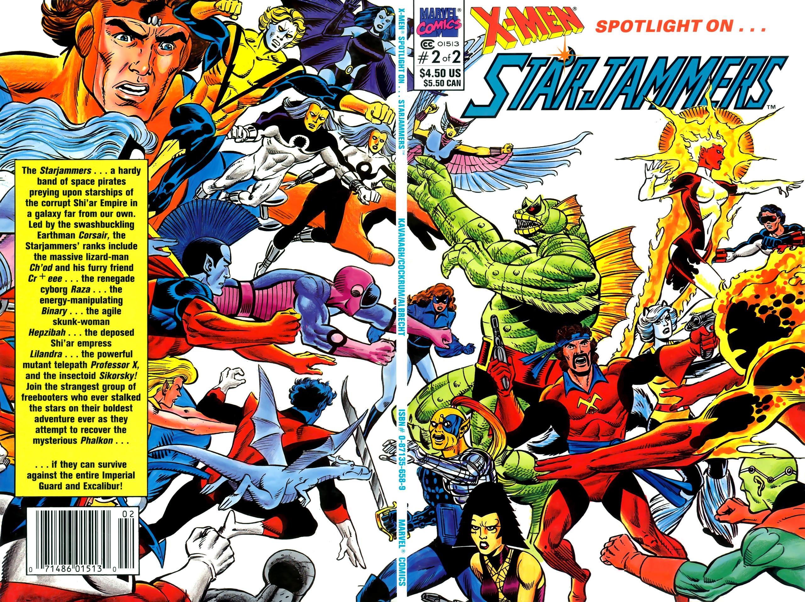 X-Men Spotlight On...Starjammers 2 Page 1